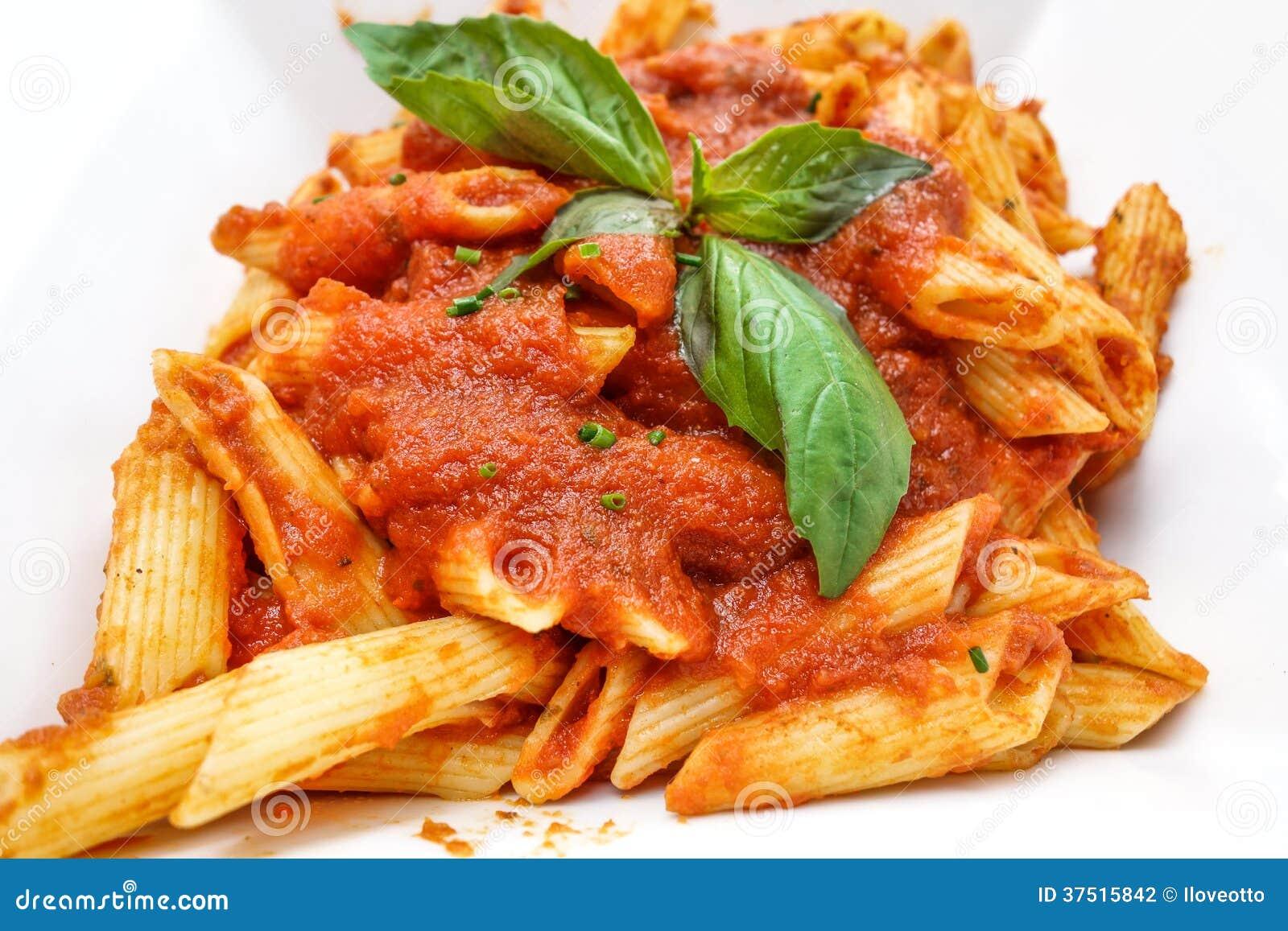 Tasty Pasta-Italian Meat Sauce Pasta Stock Photography - Image ...