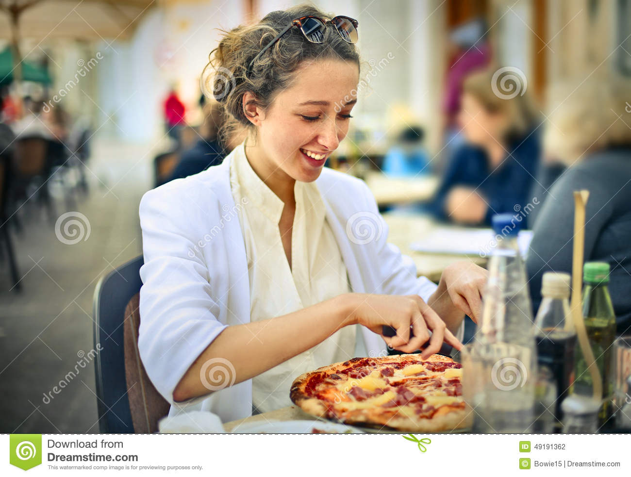 A tasty pizza