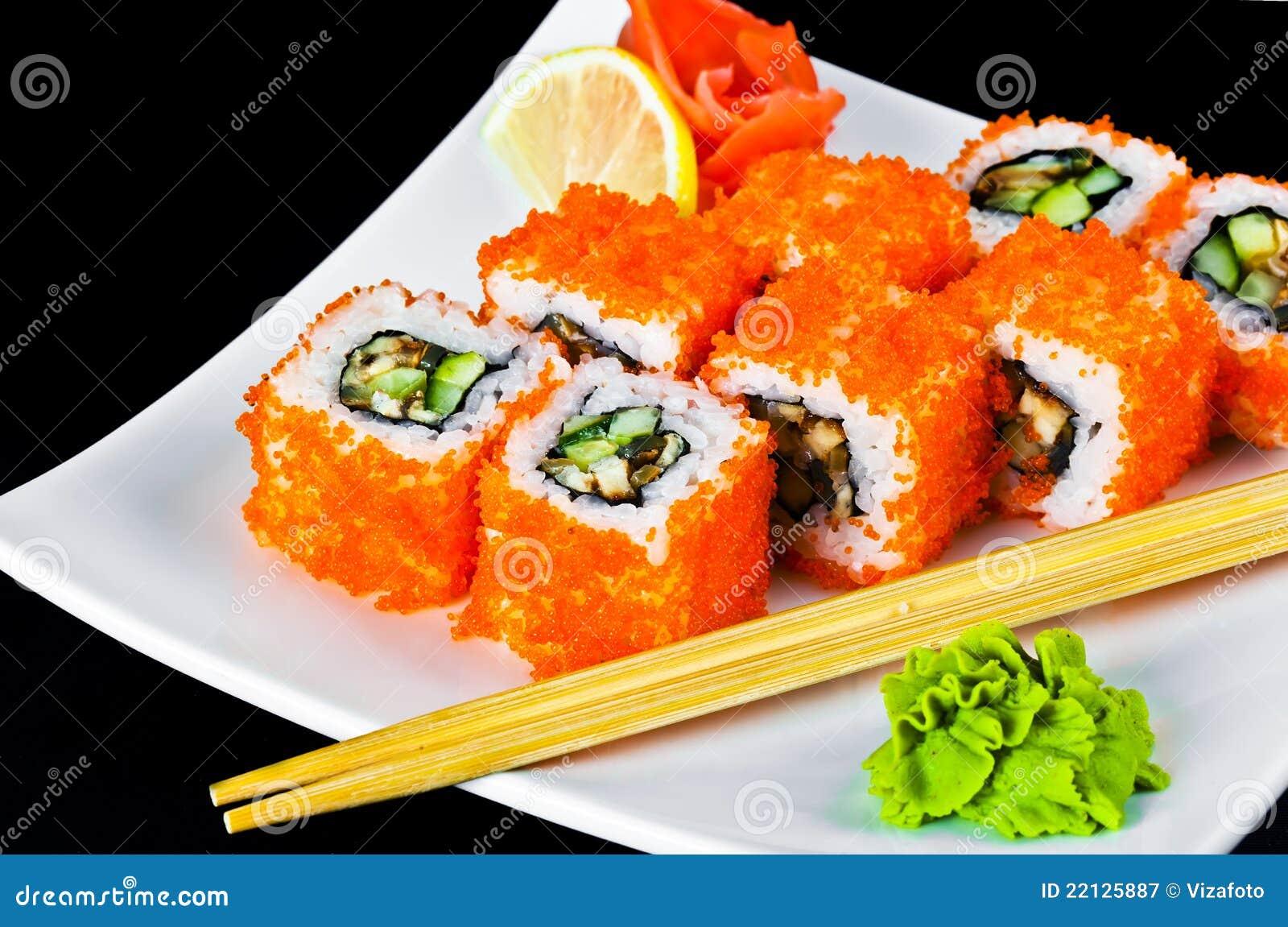 Sushi tasty