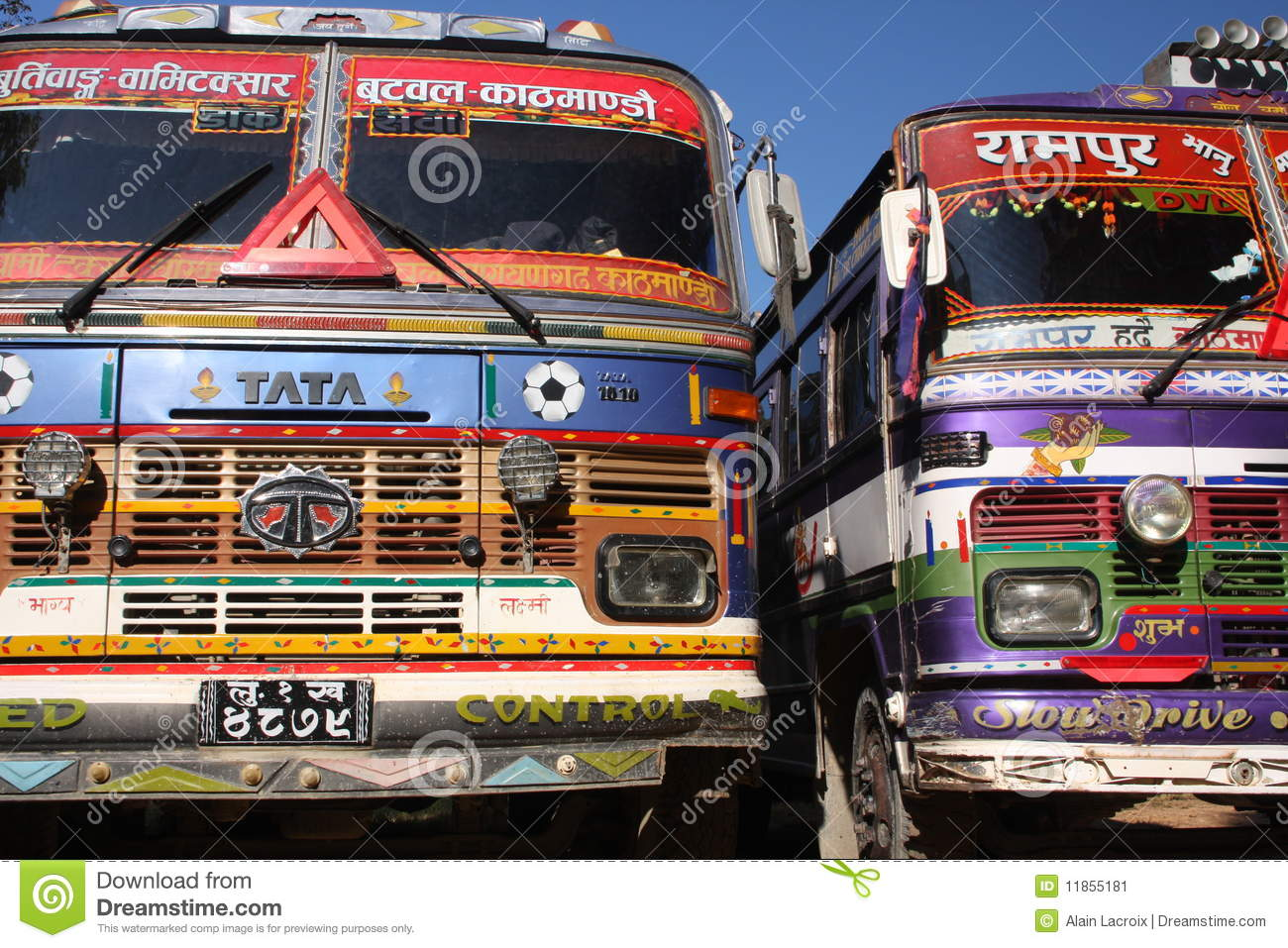 Tata Trucks Editorial Photo Image 11855181