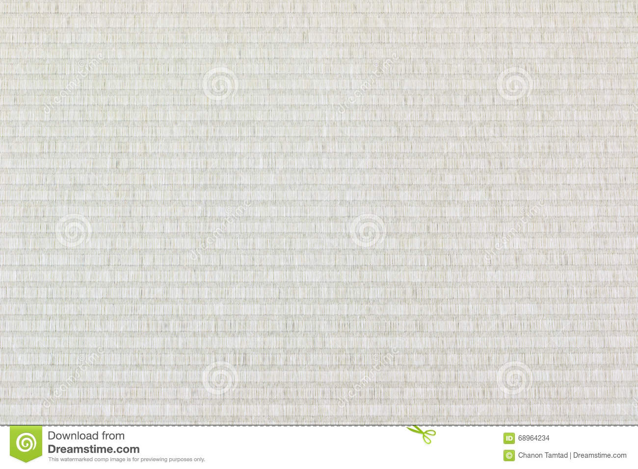 Tatami Mat Texture Background Stock Photo Image 68964234
