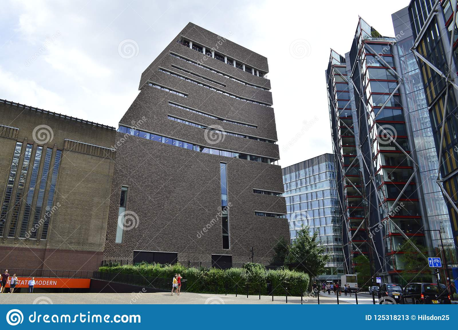 Tate Modern`s Switch House Near The South Bank In London ...