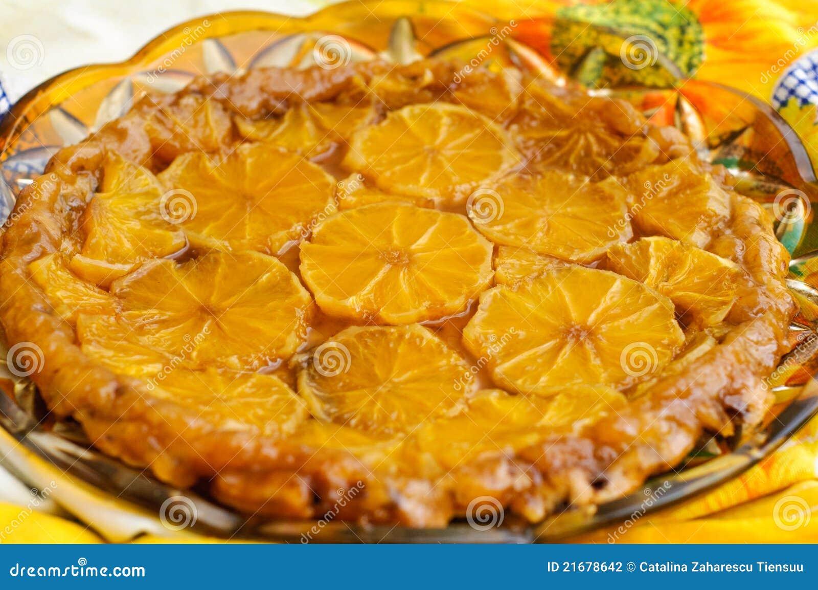 Tatin de la tarta de las naranjas