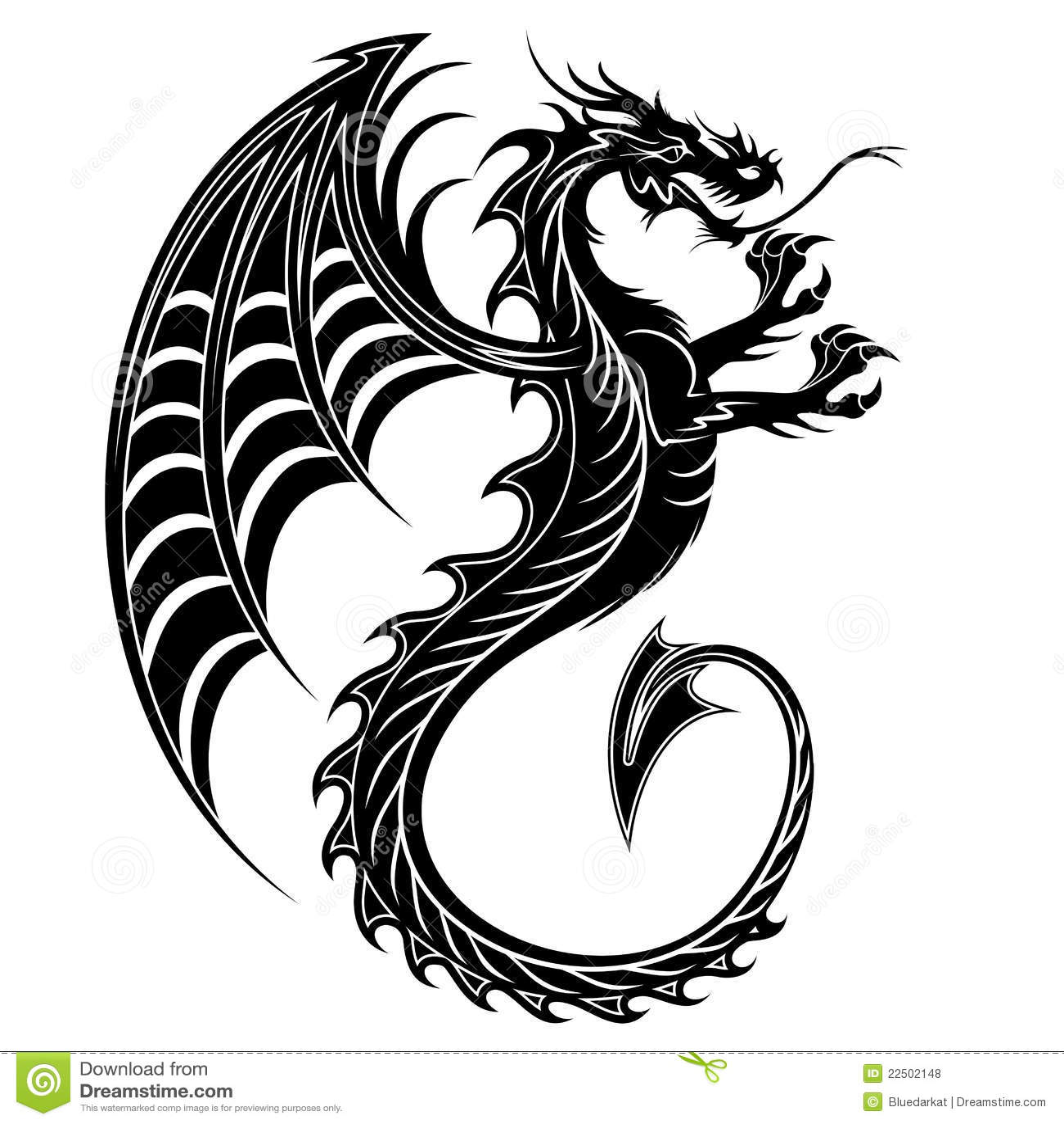 symbol drache
