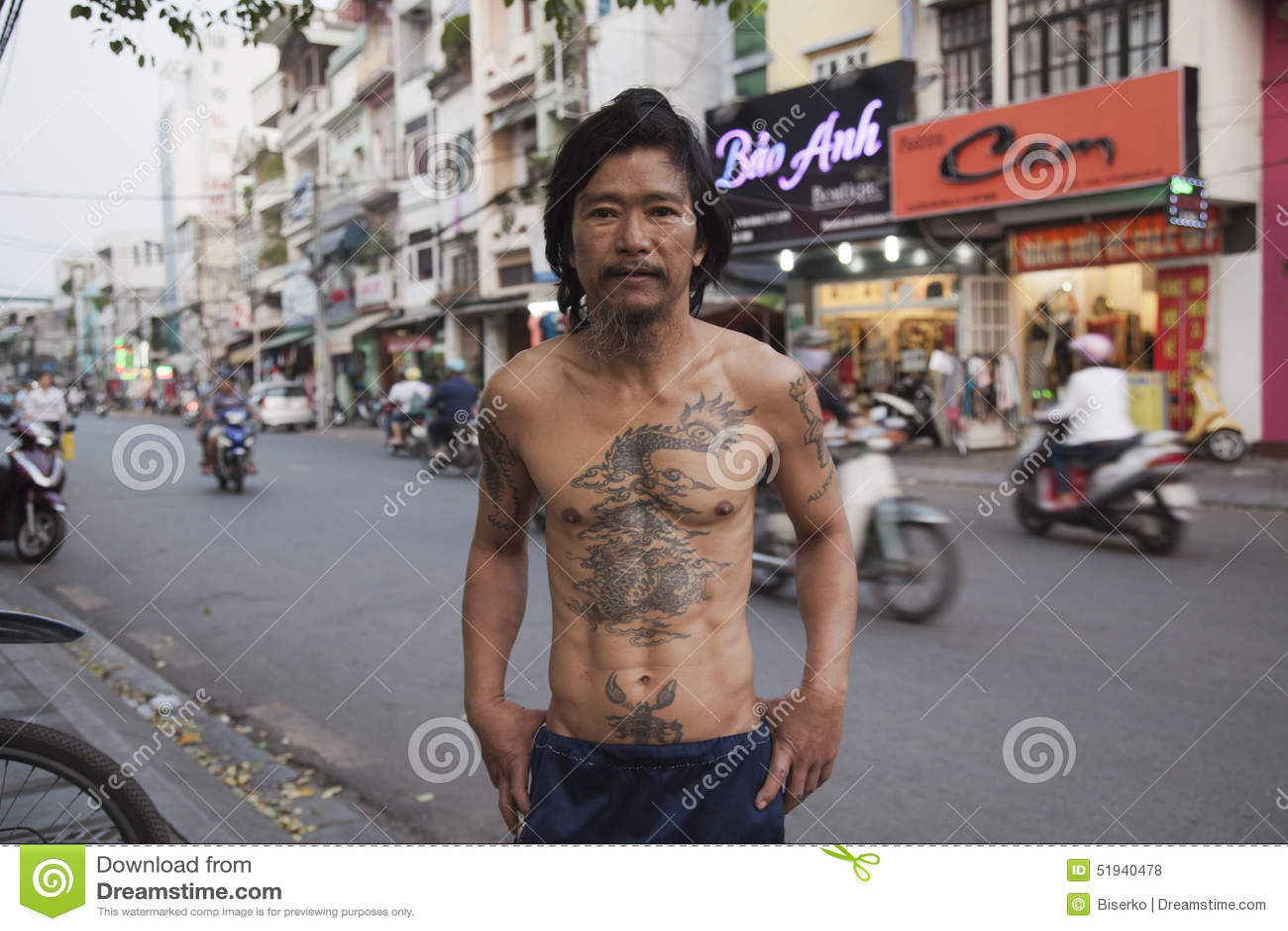 Tatouage asiatique classique photo stock ditorial image - Tatouage de protection contre le mal ...