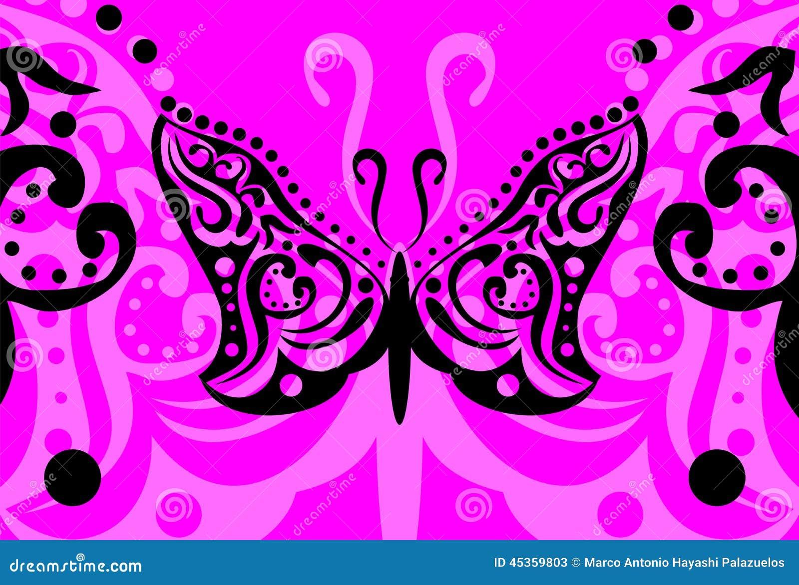 Tatouage background7 de papillon