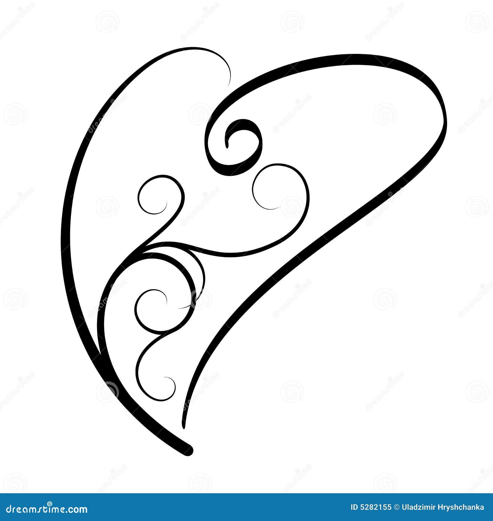 tatouage de coeur illustration de vecteur illustration du. Black Bedroom Furniture Sets. Home Design Ideas