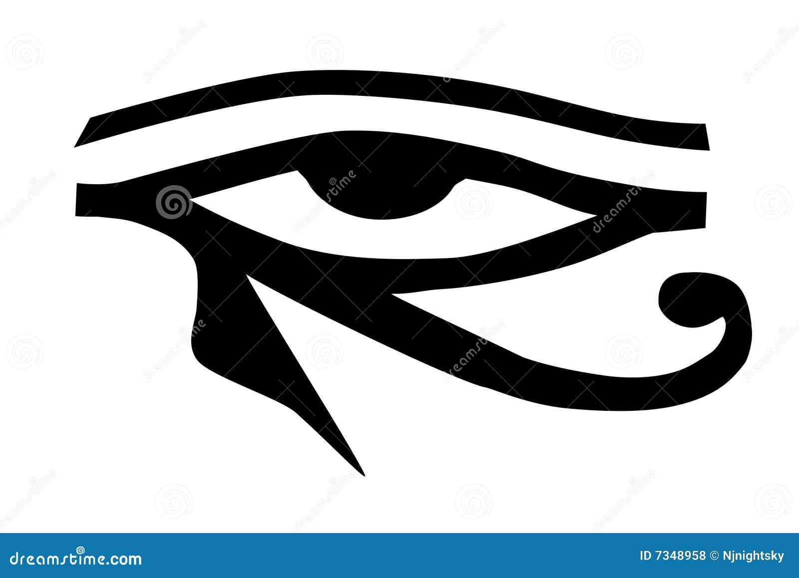 Tatouage de horus d 39 oeil tribal photos libres de droits image 7348958 - Oeil d horus tatouage ...