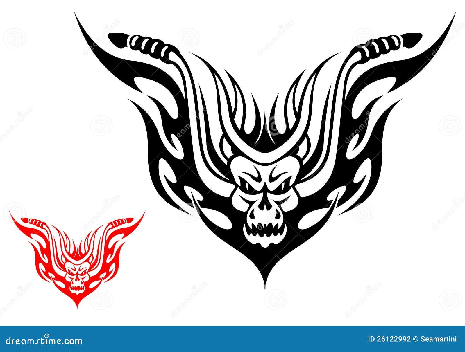 Tatouage De Moto Illustration De Vecteur Illustration Du Decoration