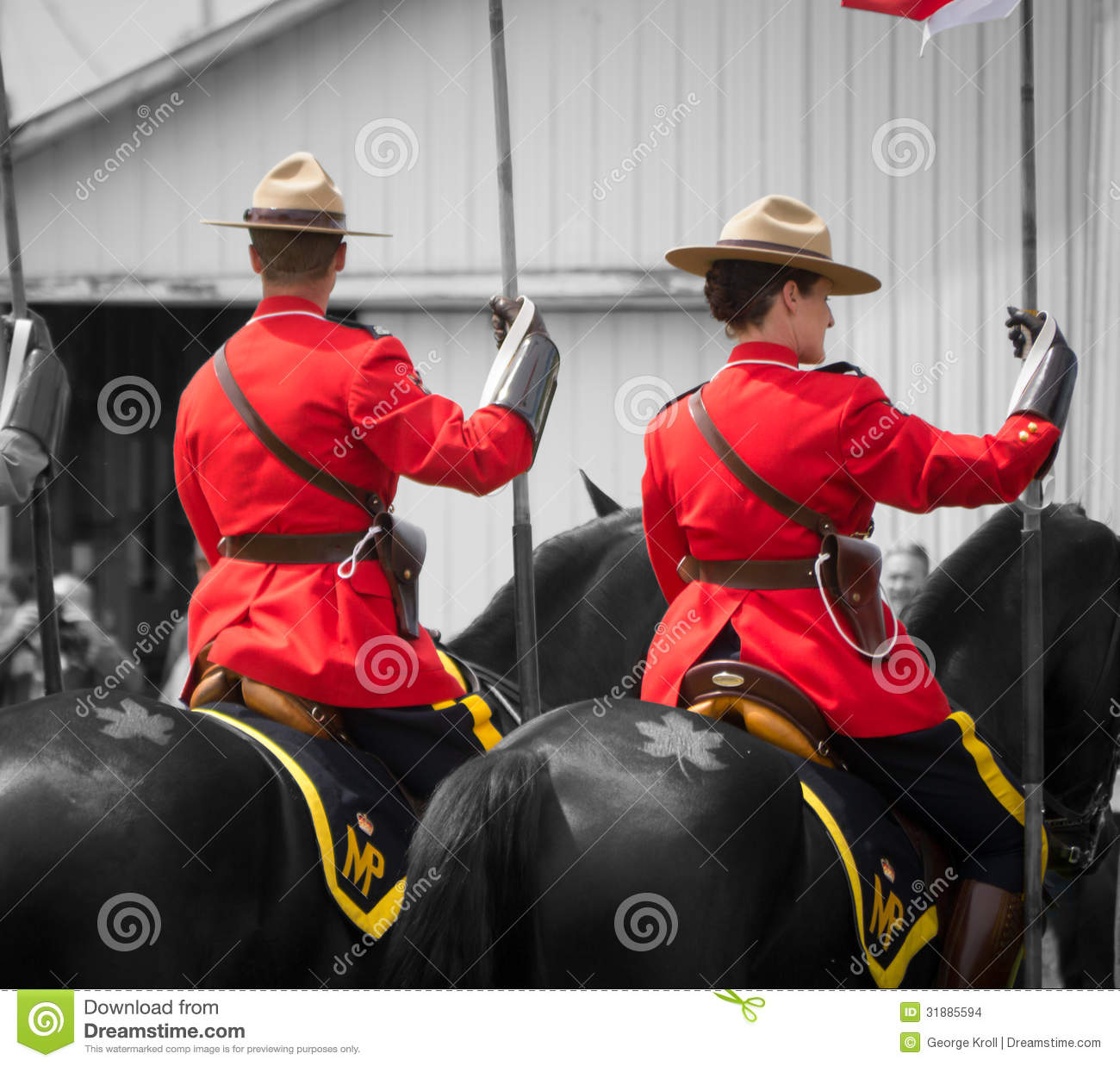 tatouage de rcmp de chevaux et de feuille d rable image. Black Bedroom Furniture Sets. Home Design Ideas