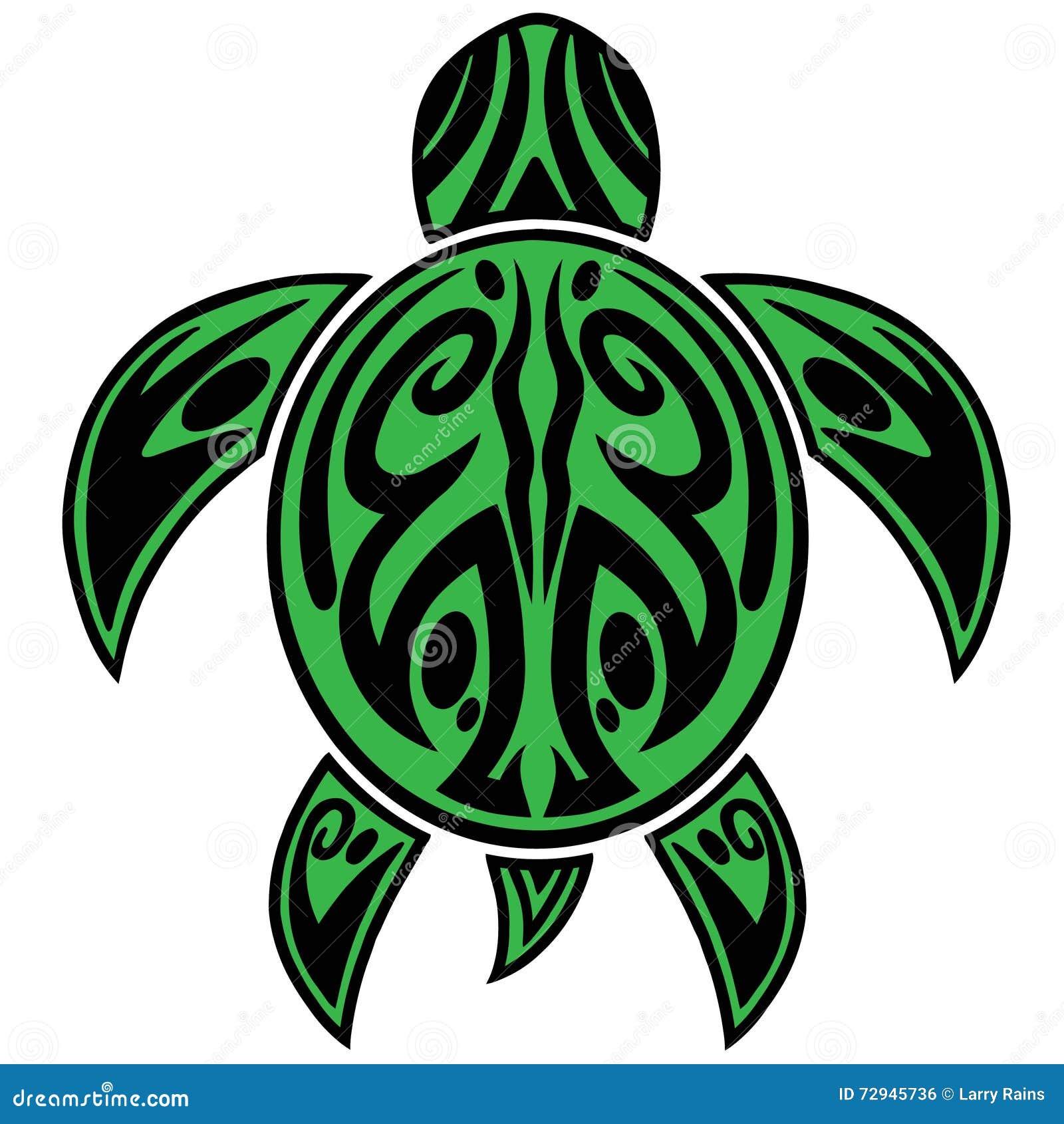 tatouage tribal de tortue de mer illustration de vecteur illustration du tortue dur e 72945736. Black Bedroom Furniture Sets. Home Design Ideas