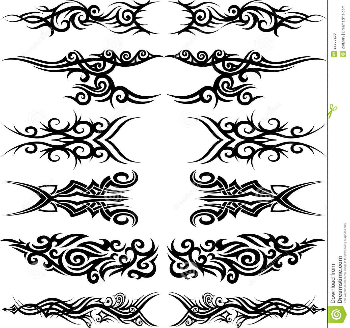 tatouage tribal maori photo stock image 27805260. Black Bedroom Furniture Sets. Home Design Ideas