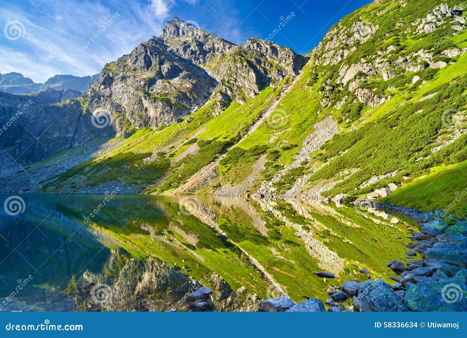 Nature Images 2mb: Tatra Mountains Landscape Nature Lake Pond Carpathians