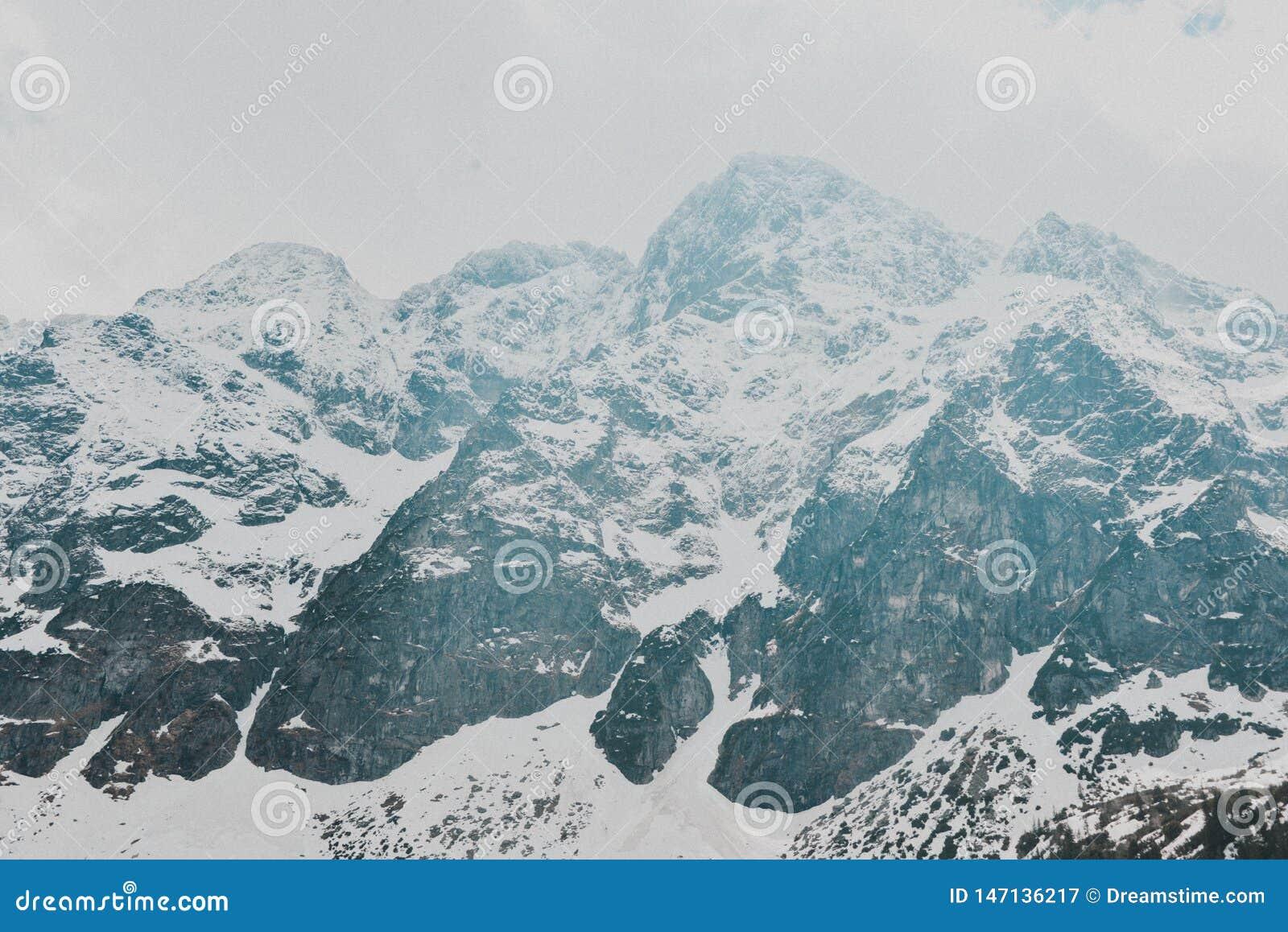 Tatry bergZakopane landskap