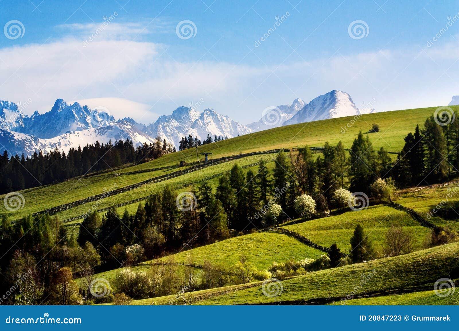 Tatry mountains
