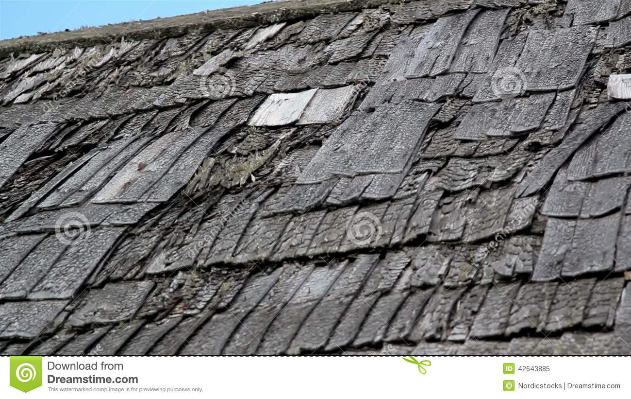 Tattered Old Broken Cedar Wooden Shake Shingle Roof Of The House Stock  Video   Video: 42643885