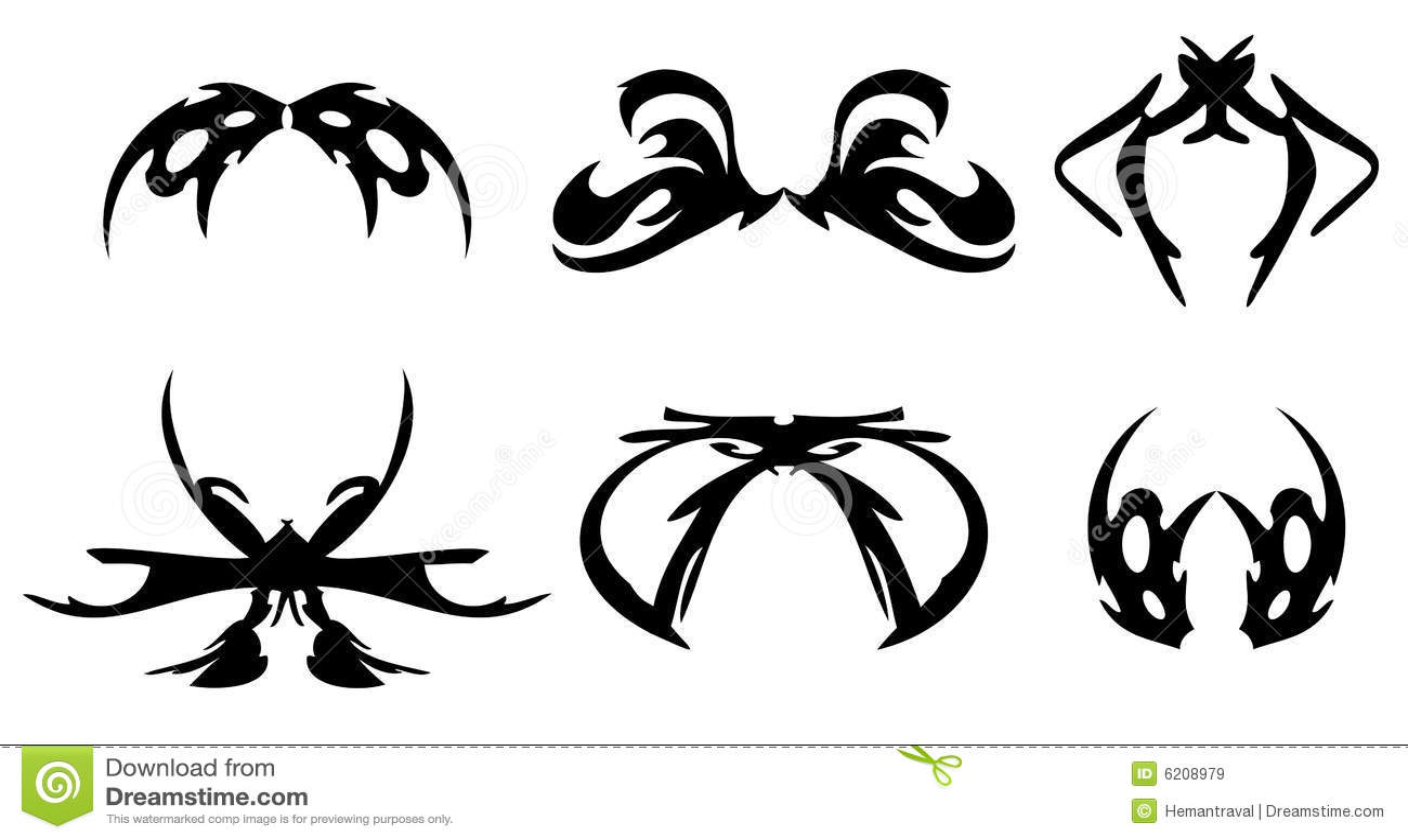 tattoo design royalty free stock images image 6208979. Black Bedroom Furniture Sets. Home Design Ideas