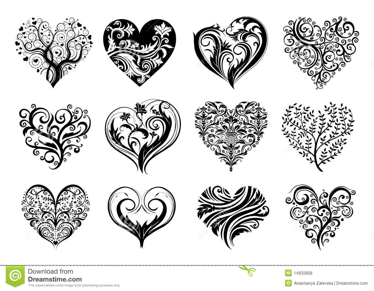 Gothic Heart Tattoos Tattoo hearts