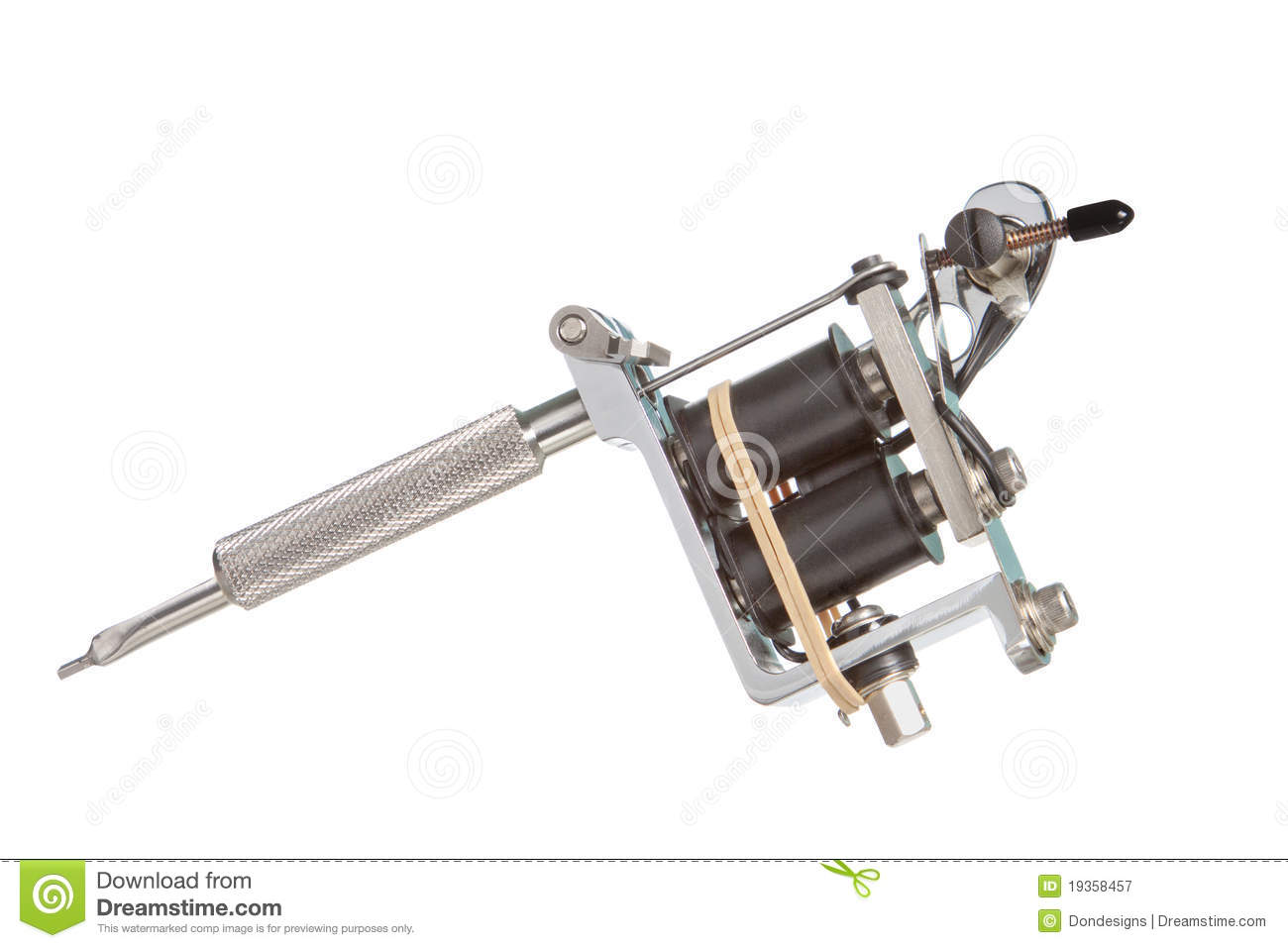 tattoo machine stock image image of hand tattoo machine