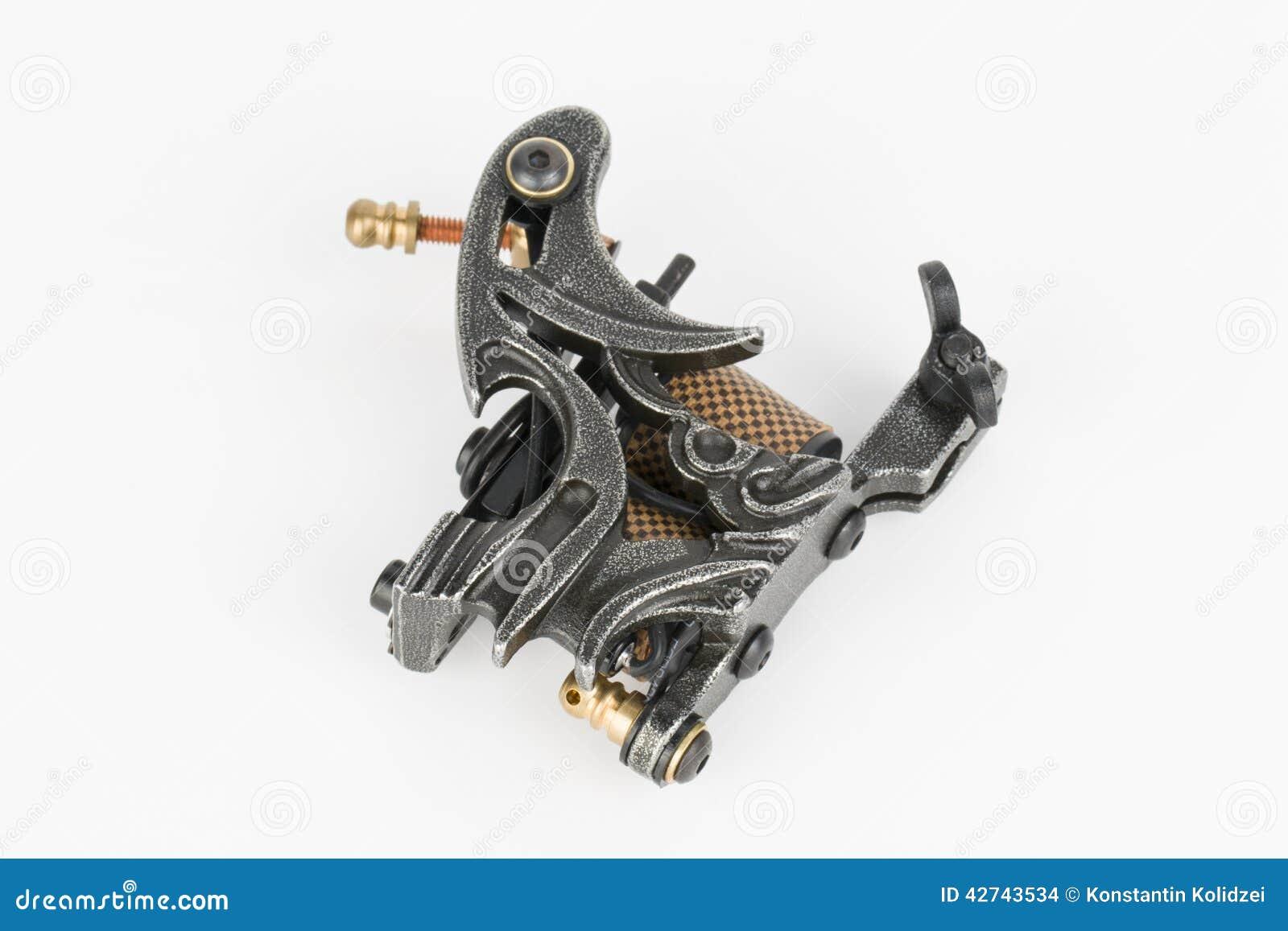 Tattoo machine gun stock photo image 42743534 for Professional tattoo guns