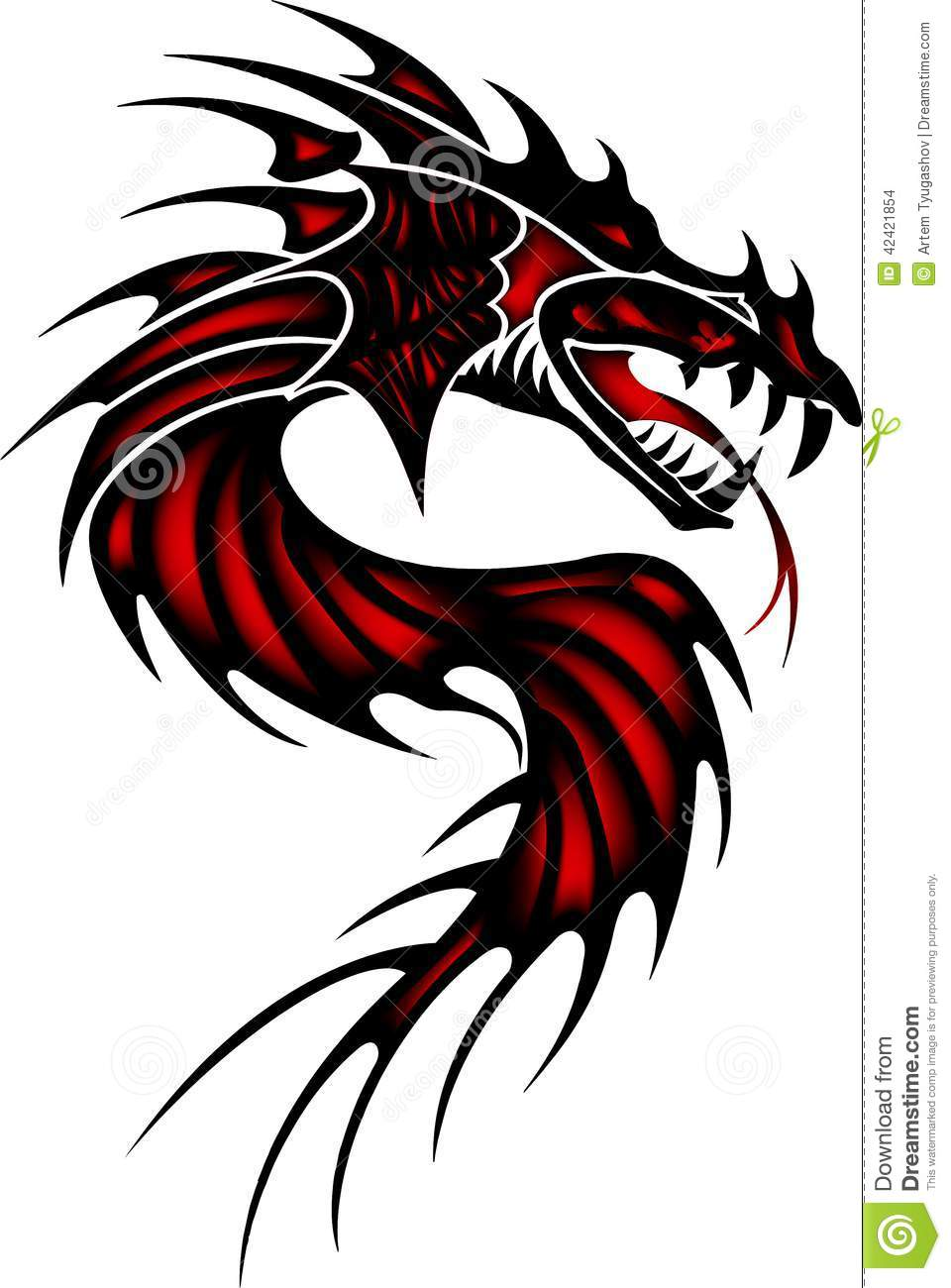 chinese dragon tattoo is a popular choice for many and