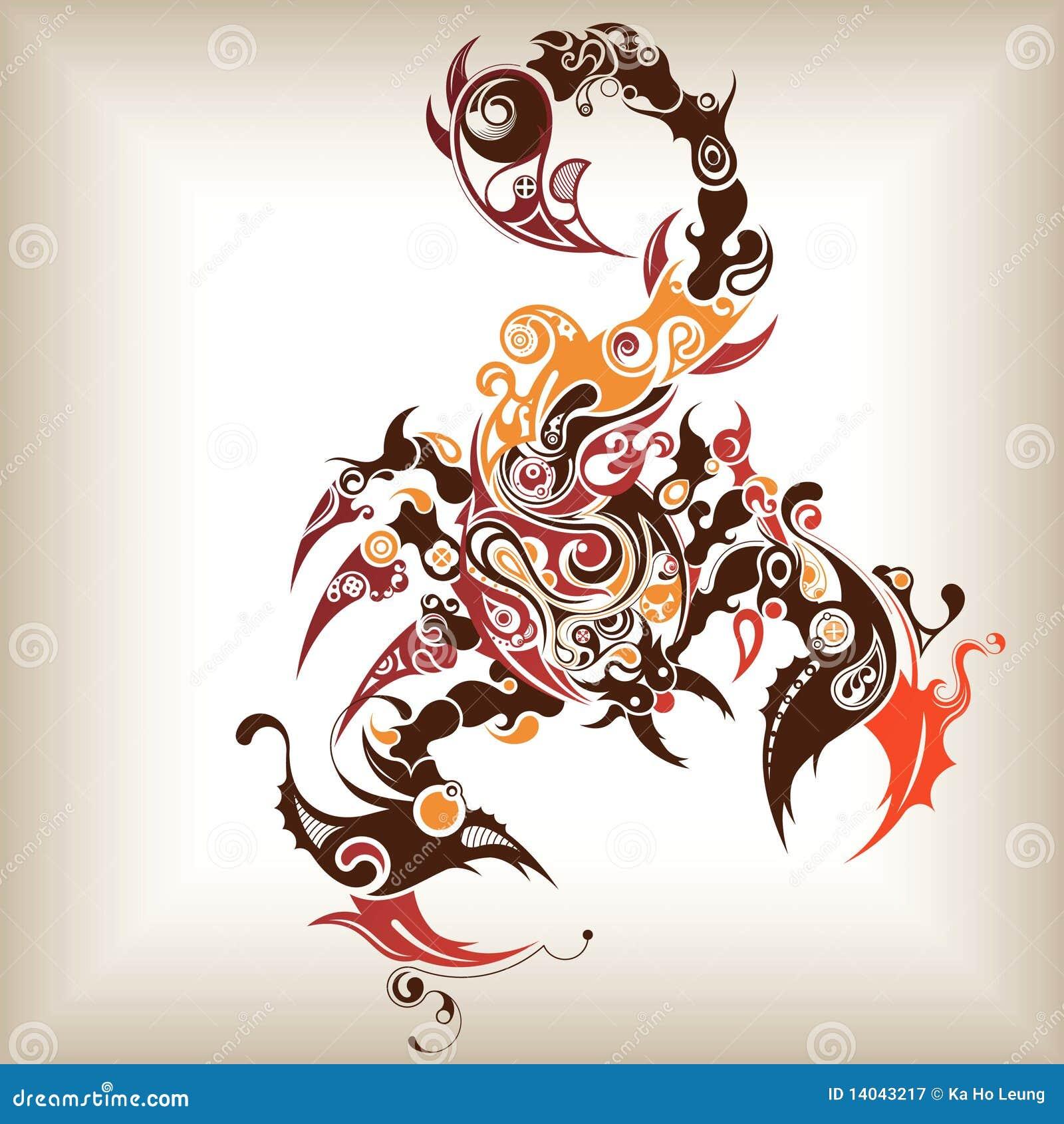 Tattoo Scorpion