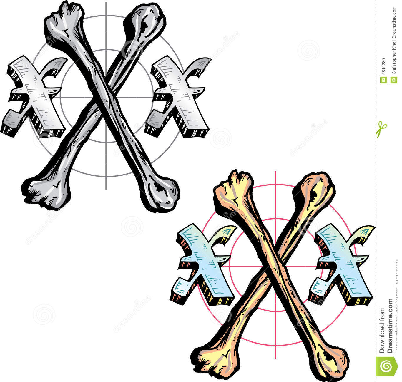 Tattoo Style Letter X Stock Vector Illustration Of Shine 6810280