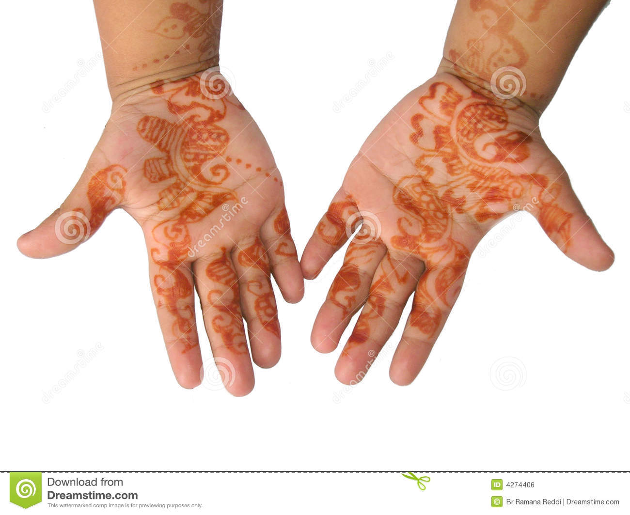 Henna Tattoo Reactions - eMedicineHealth