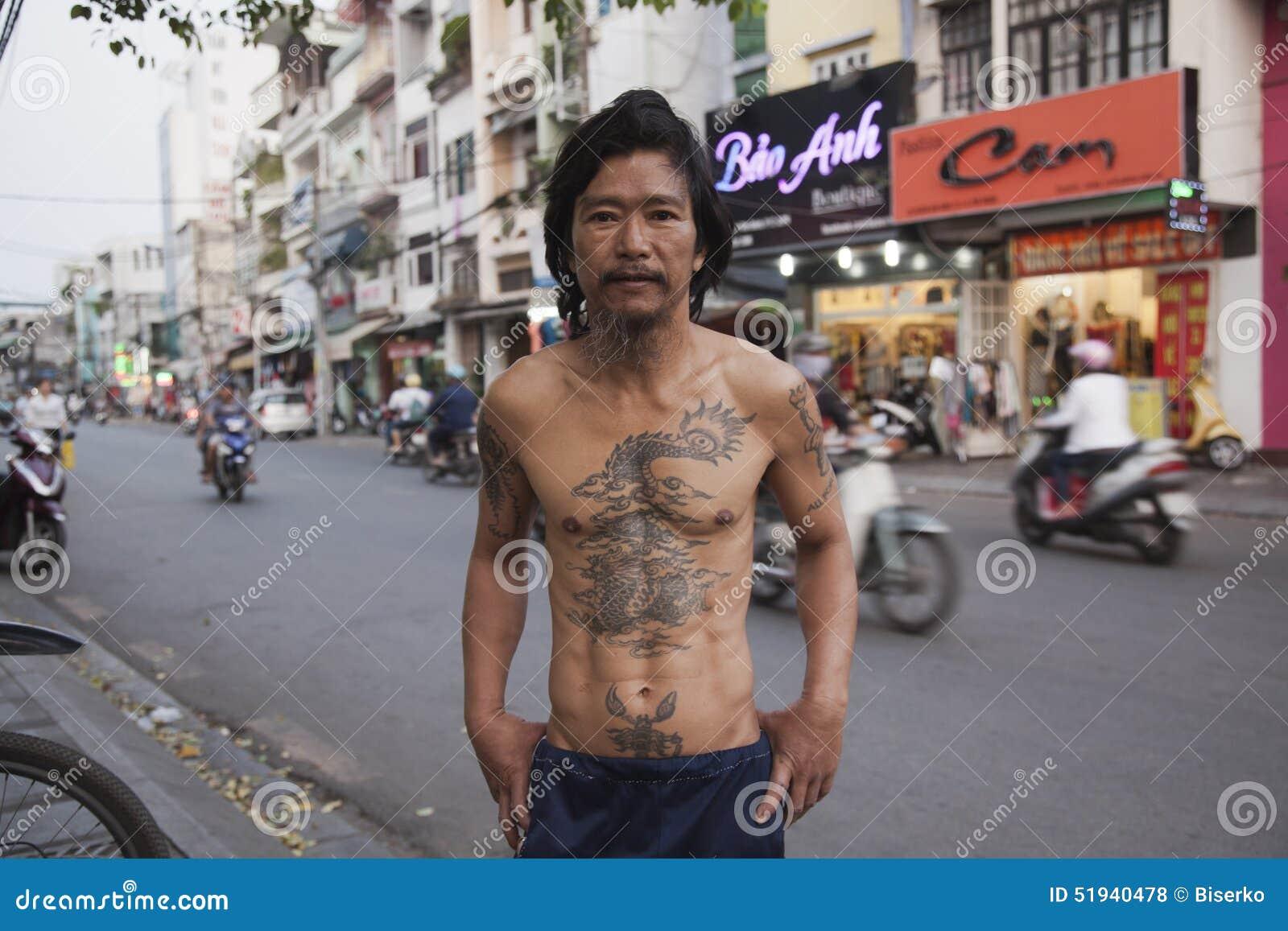 Tatuaje asiático clásico