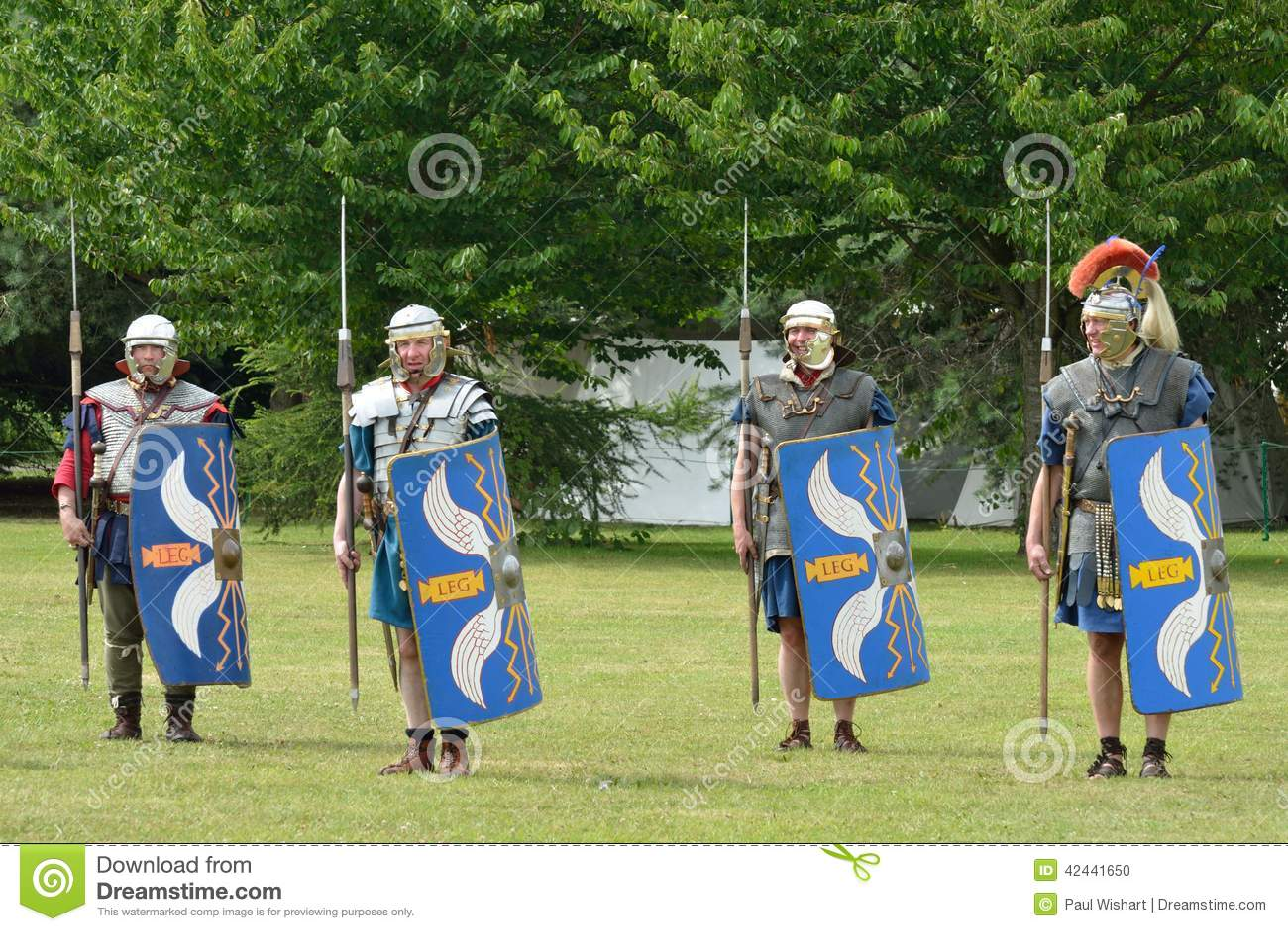 Tatuaje COLCHESTER ESSEX 8 de julio de 2014 BRITÁNICO militar: Soldados romanos