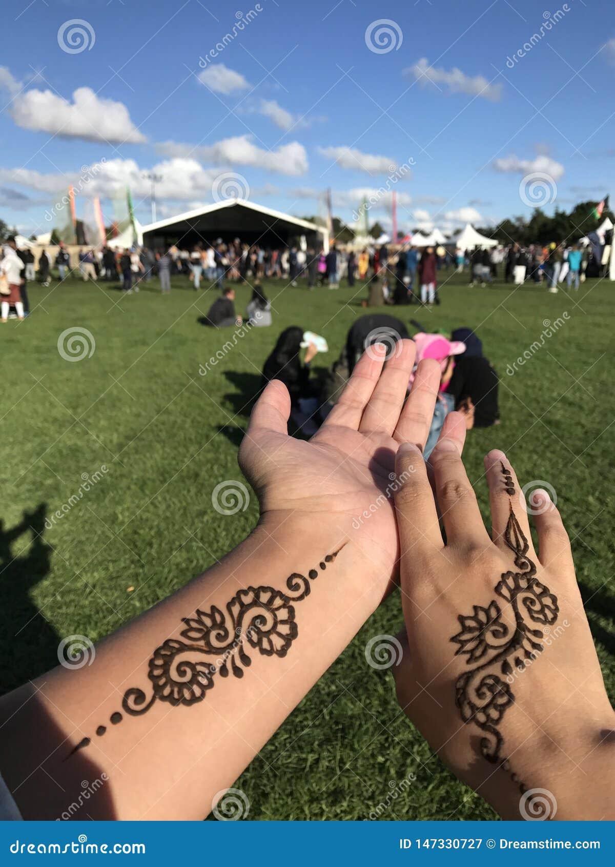 Tatuering på händerna