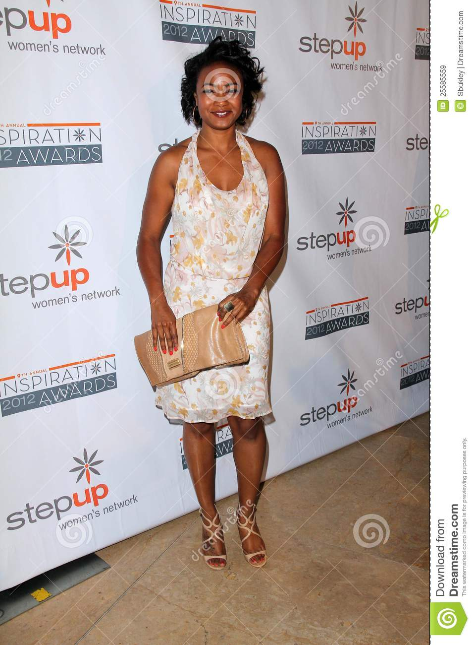 Tatyana Ali At The Step Up Women Network 9th Annual