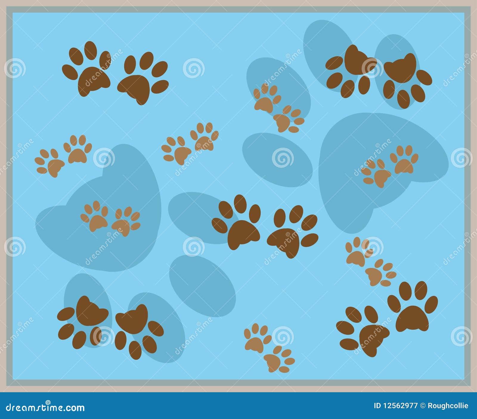 Free Dog Paw Print Template