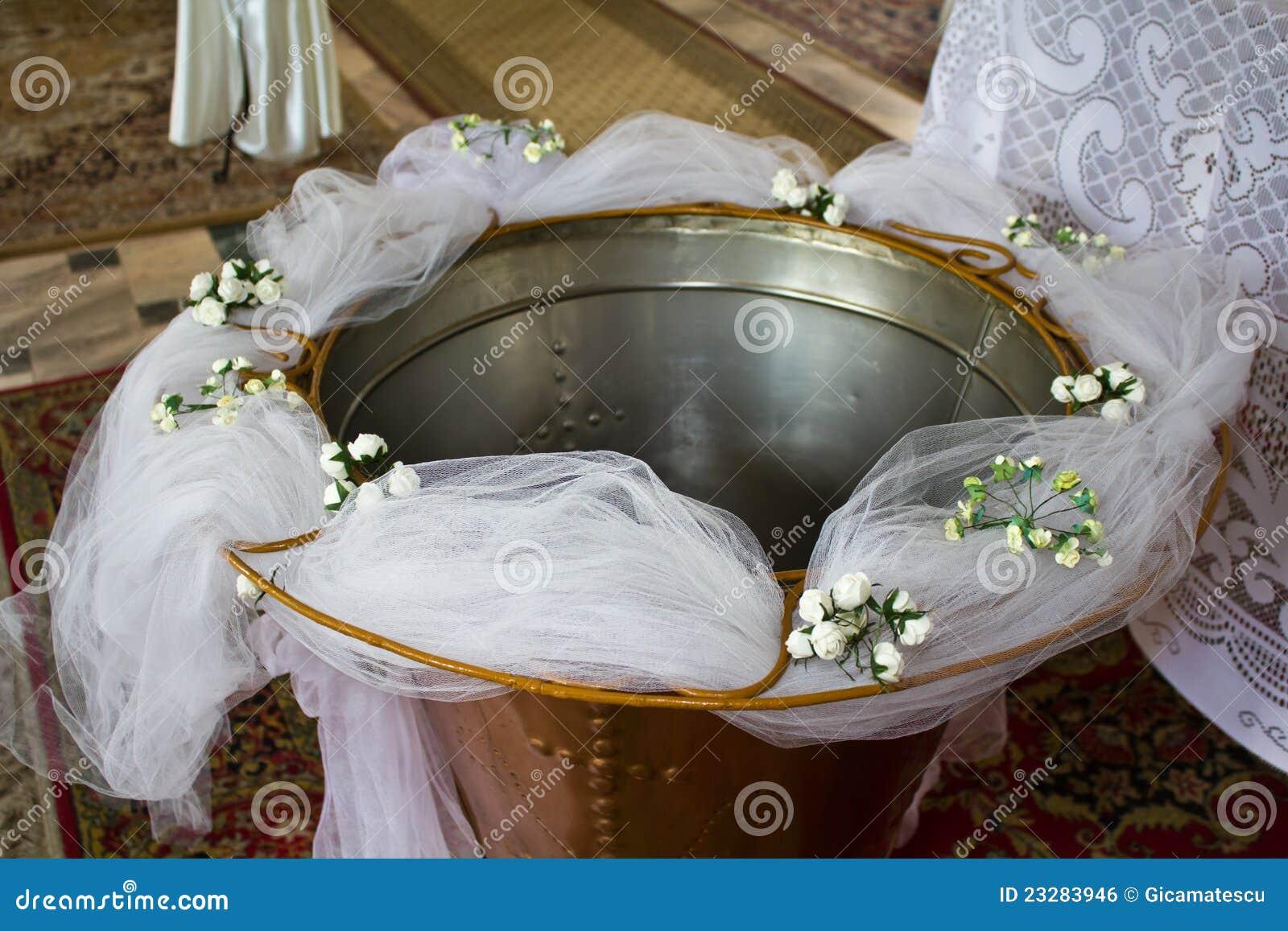 Taufe Stockfoto Bild Von Gott Blumen Christentum
