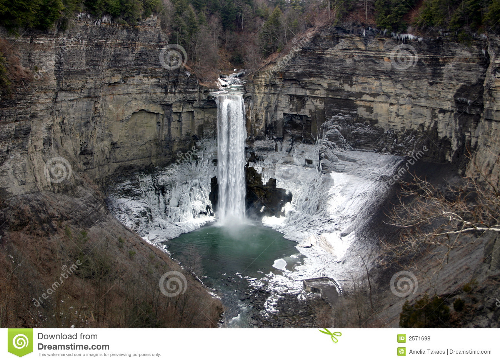 Taughannock Falls - New York