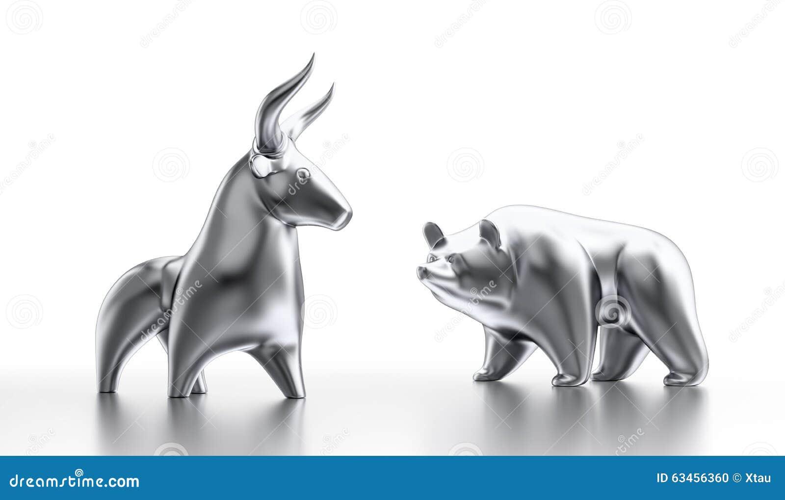 Taureau et marché à la baisse