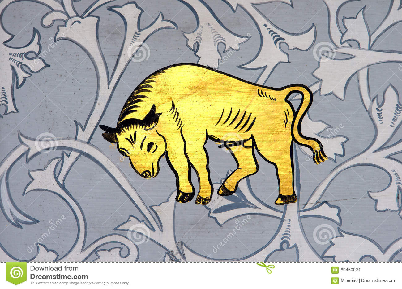 Taurus the bull zodiac sign