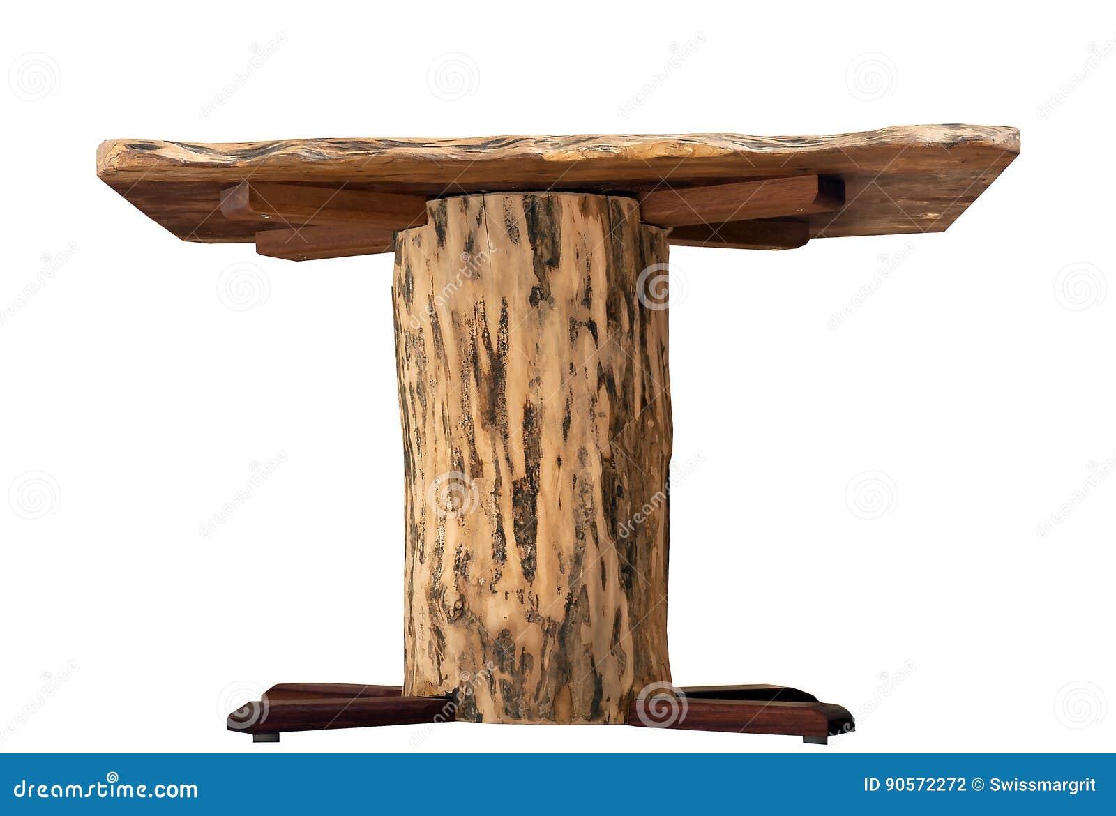 Tavolini Da Salotto In Legno Rustico.Tavolino Da Salotto Di Legno Rustico Fatto A Mano Fotografia