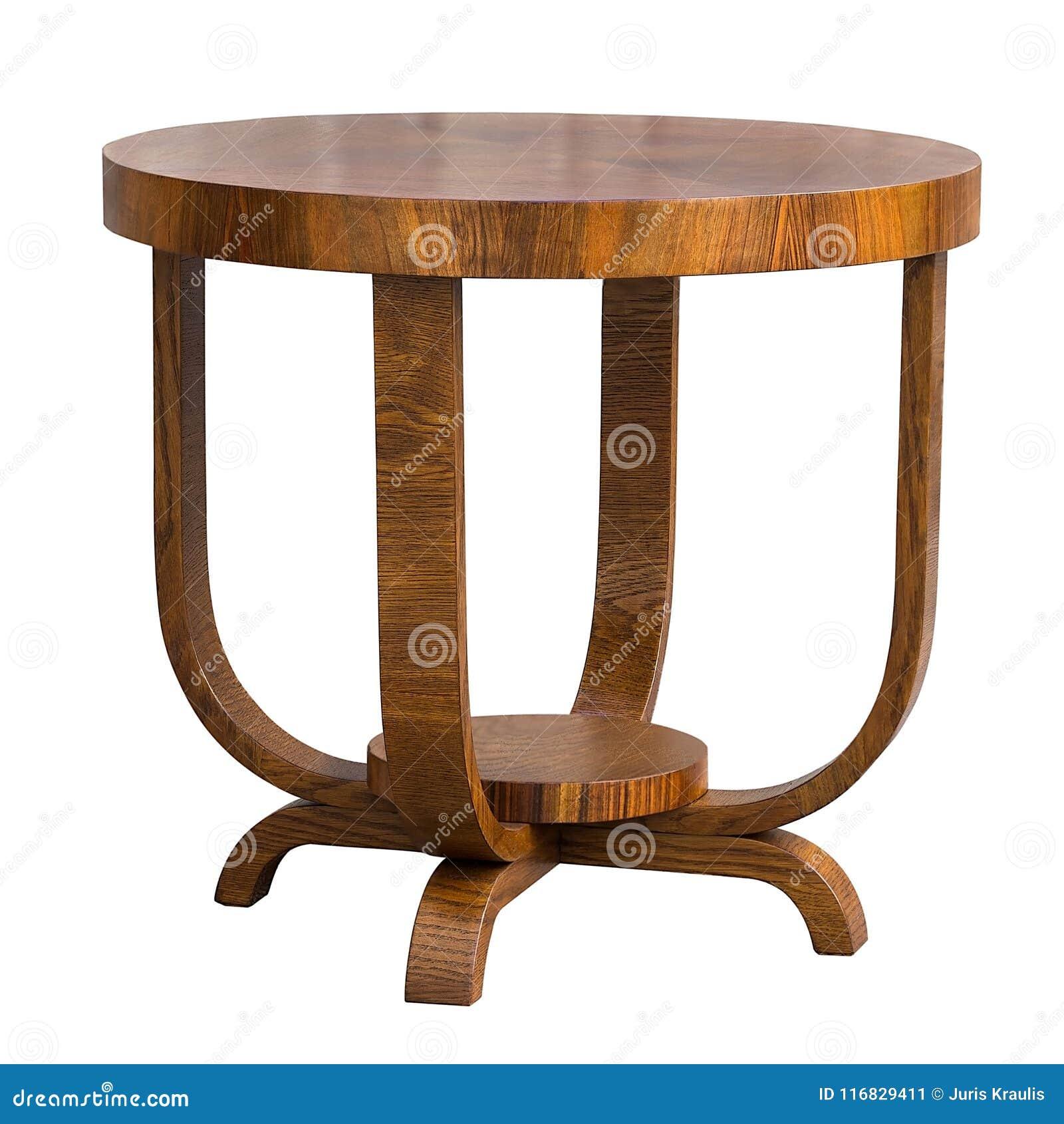 Tavolo Pranzo Art Deco tavolo da pranzo antico di art deco della noce su fondo