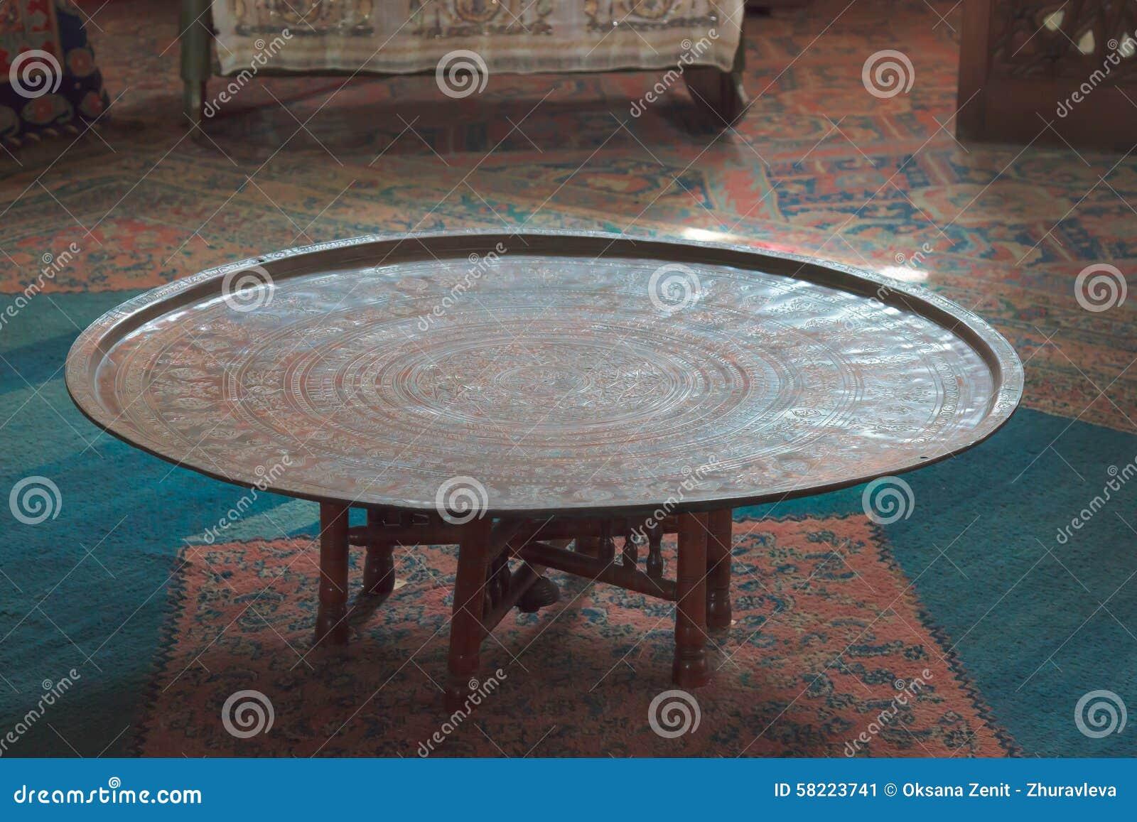 Tavolo da pranzo nel palazzo Bakhchisaray del Khan