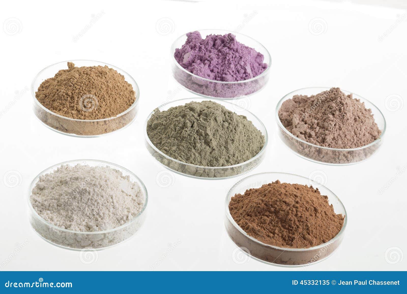 Tavolozza cosmetica dell argilla per il trattamento del corpo e della STAZIONE TERMALE