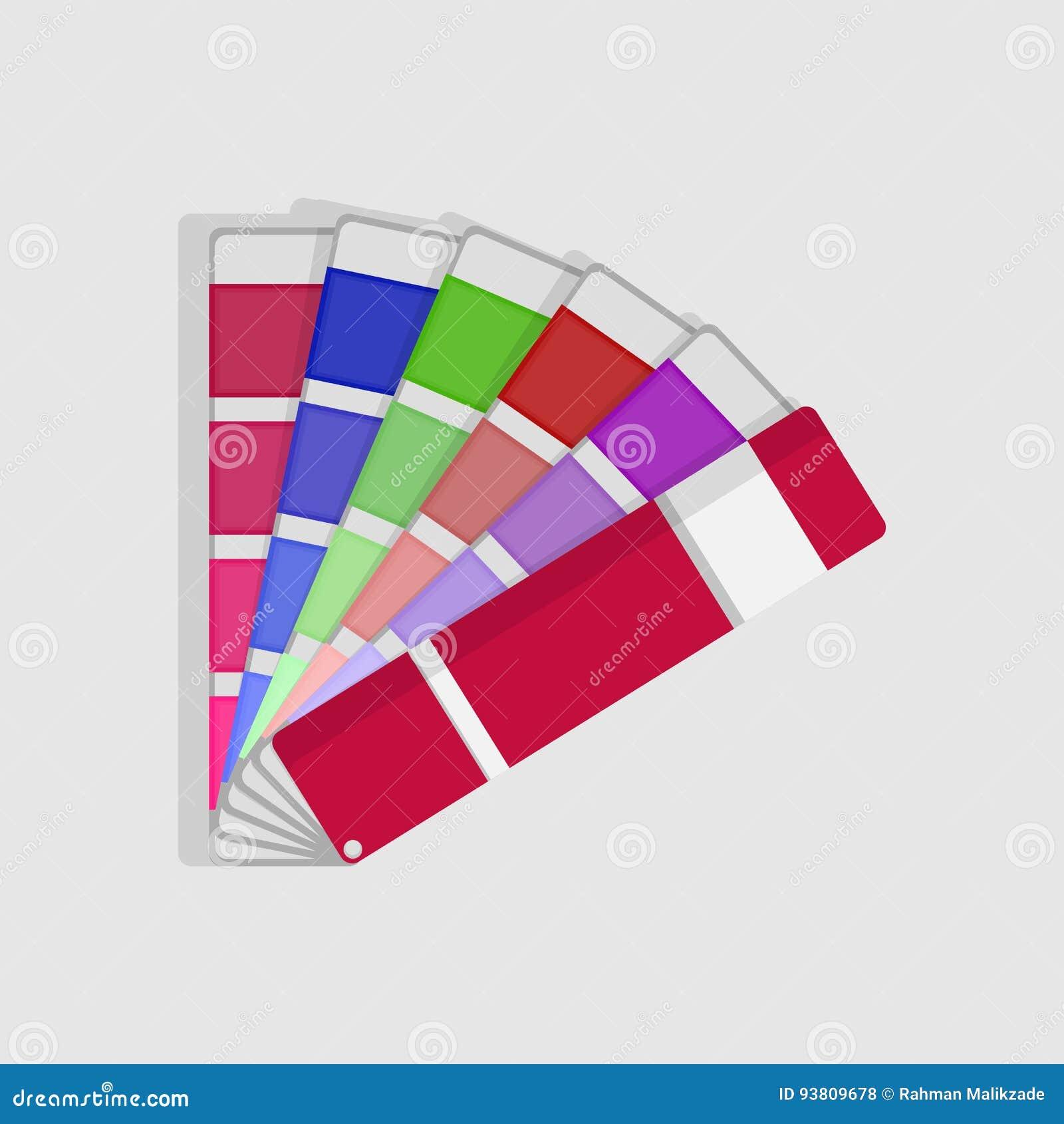 Tavolozza del campione di colore