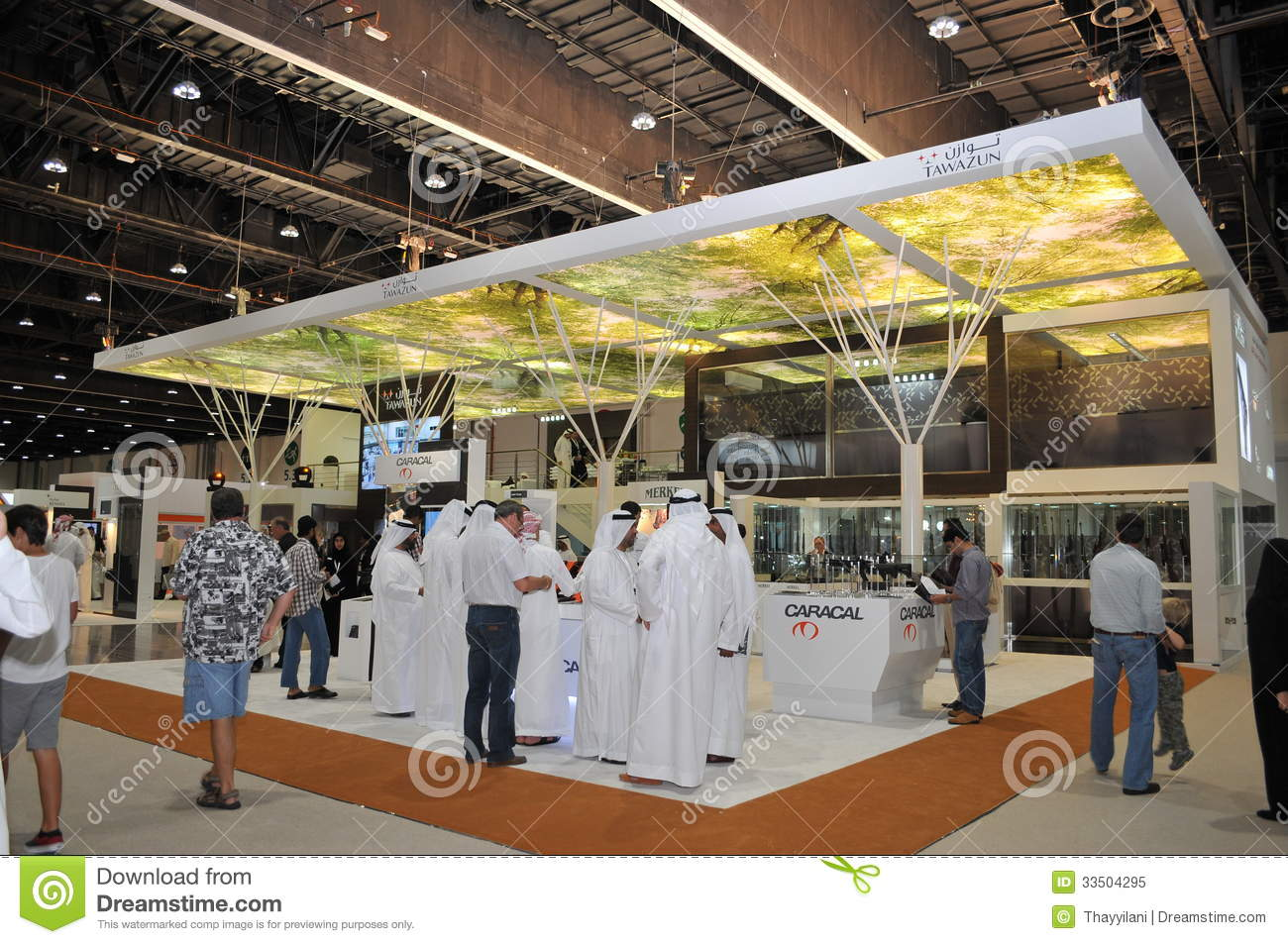 Tawazun weaponry pavilion at abu dhabi international for International decor company abu dhabi