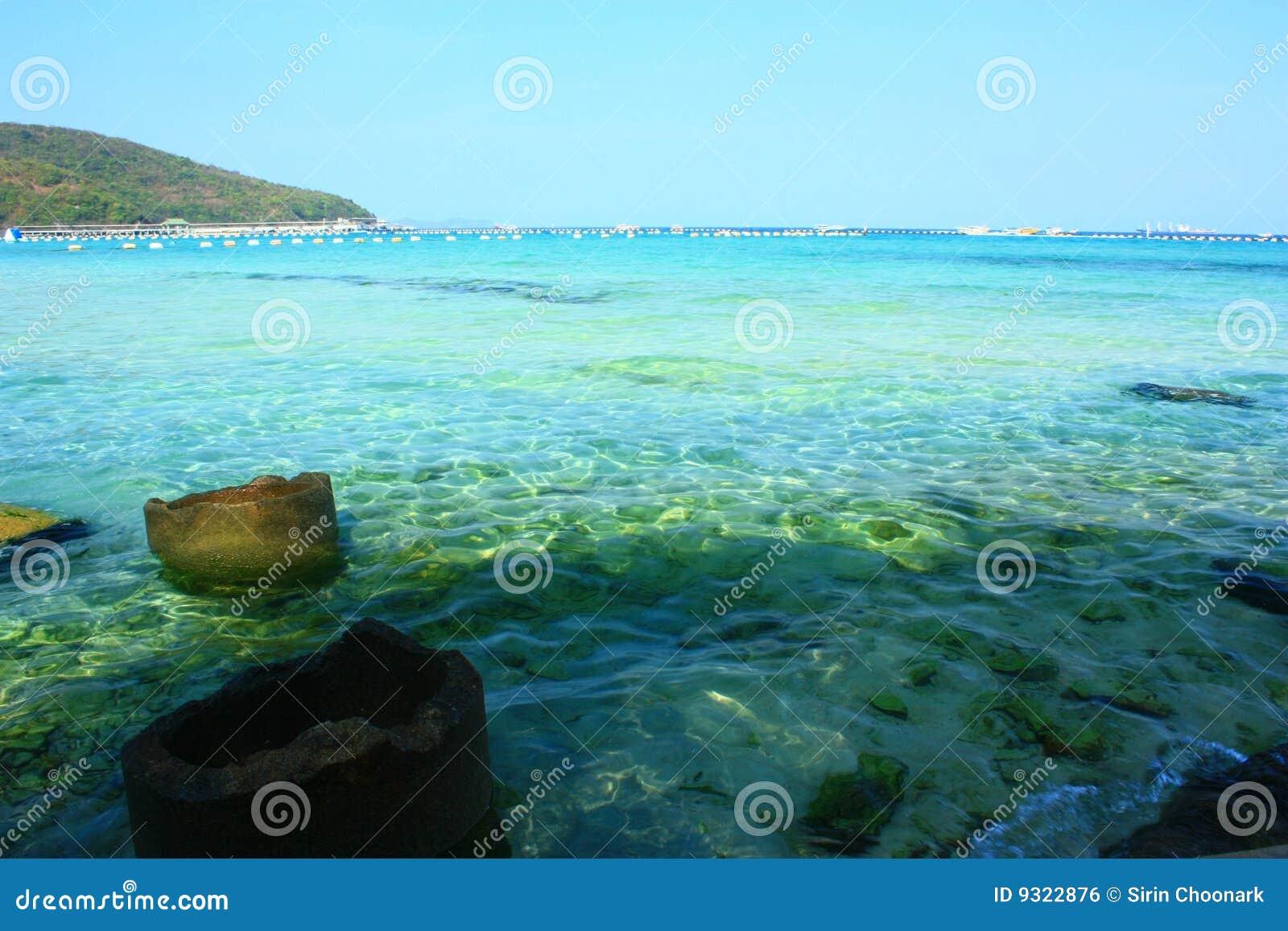 Tawean Beach Koh Larn Pattaya Chonburi Thailand Stock