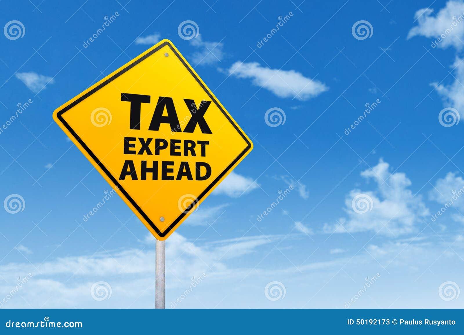Tax Expert Ahead Stock Photo Image 50192173