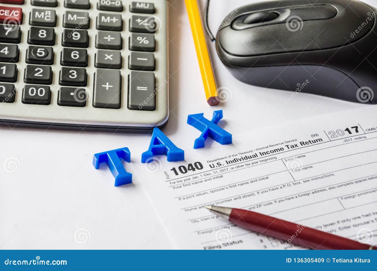 form 1040 calculator  Tax Form 12, Calculator, Pen, Pencil And Computer Mouse ...