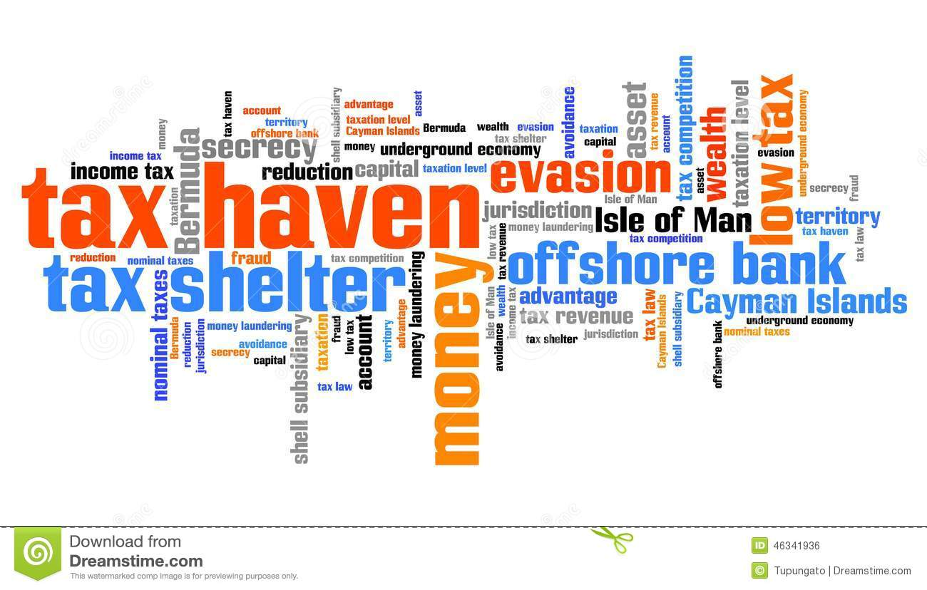 Is it 'tax haven' or 'tax heaven' in English?