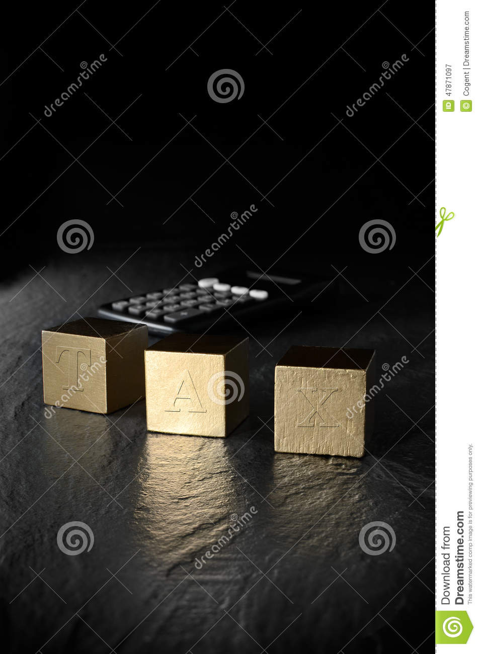 Tax Planning stock image  Image of annual, return, planning