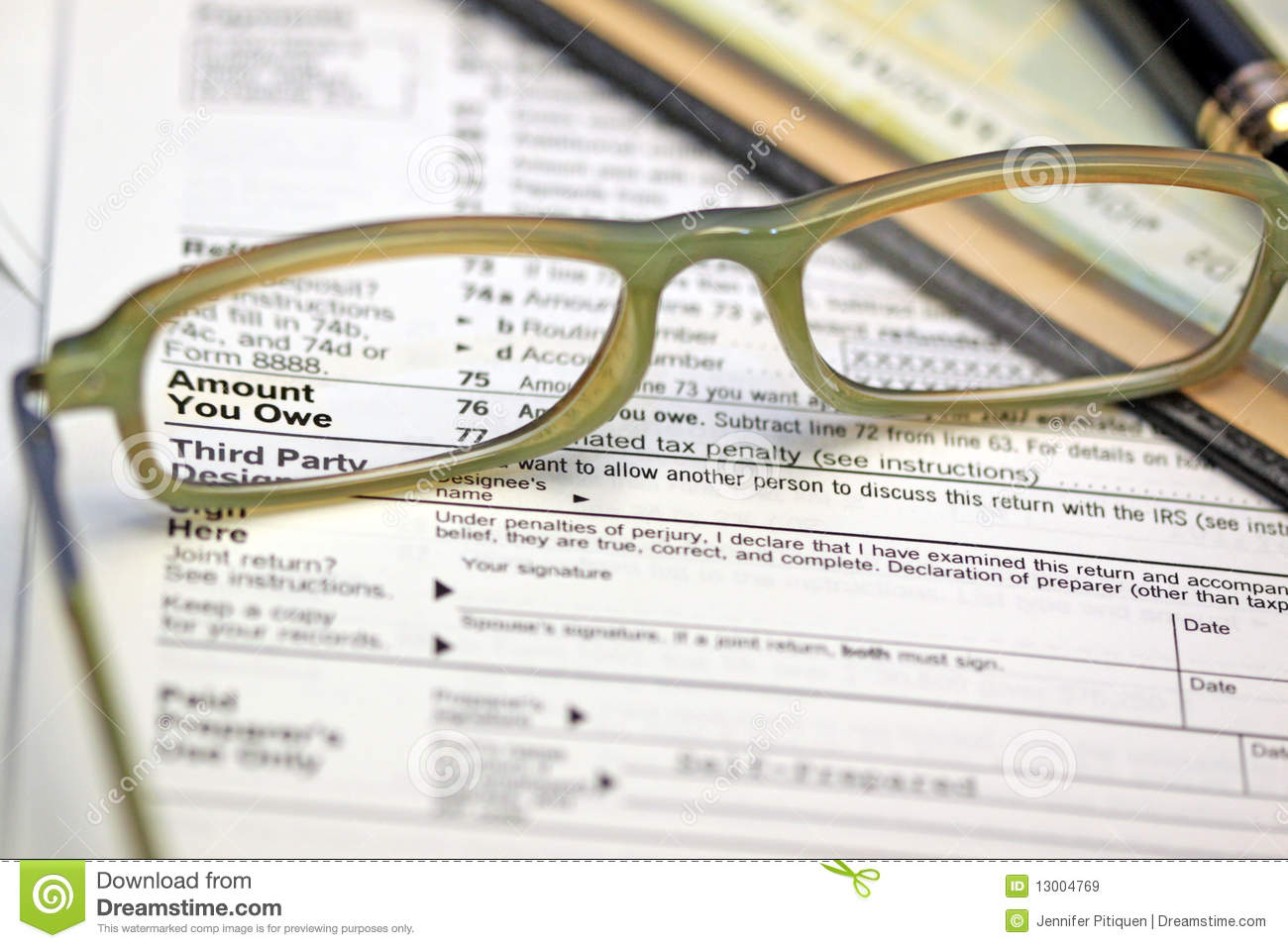how to check your tax return amount