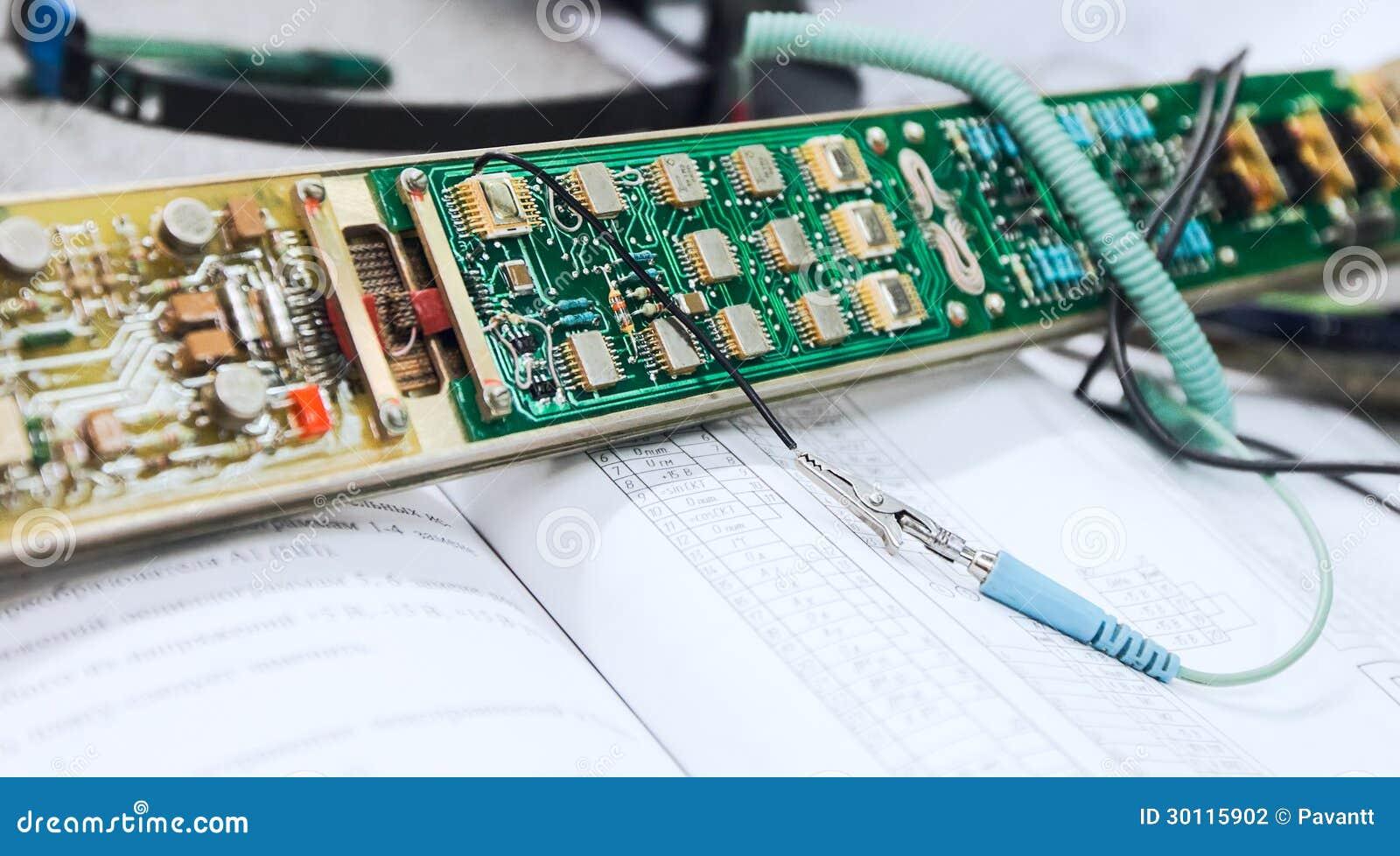 Taxa do reparo da eletrônica